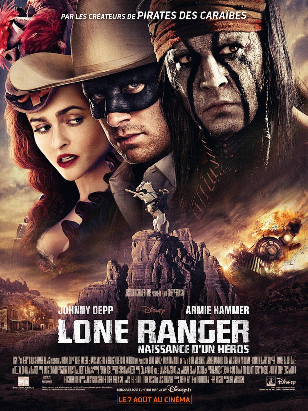 Lone ranger naissance heros gore verbinski