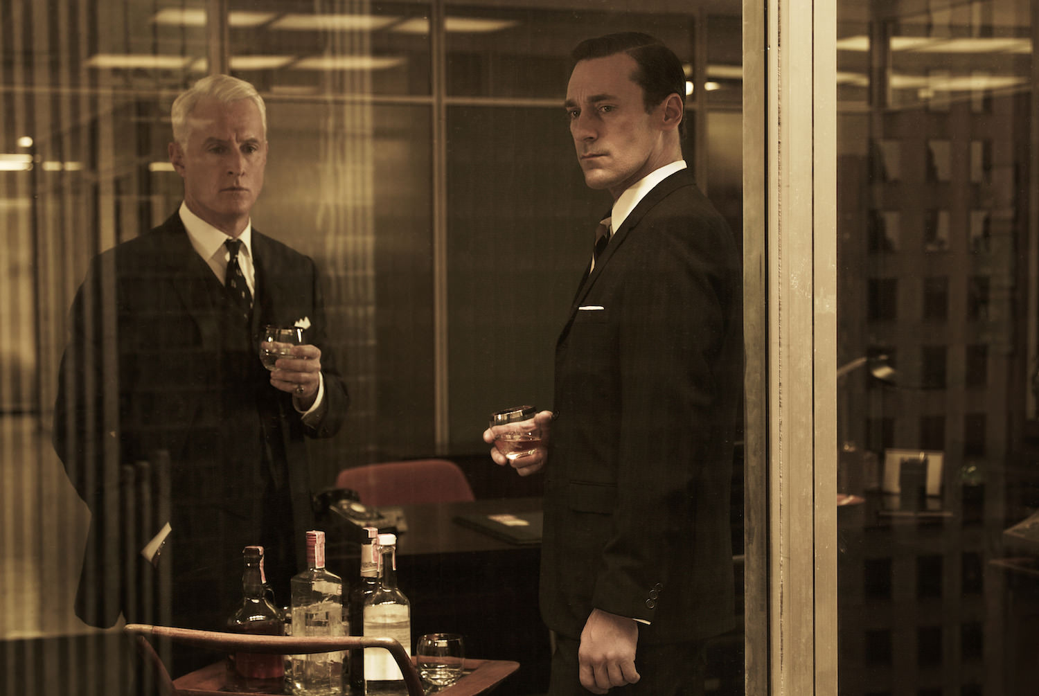 Mad men jon hamm john slattery