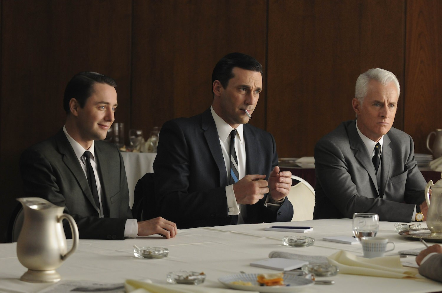 Mad men weiner vincent kartheiser jon hamm john slattery