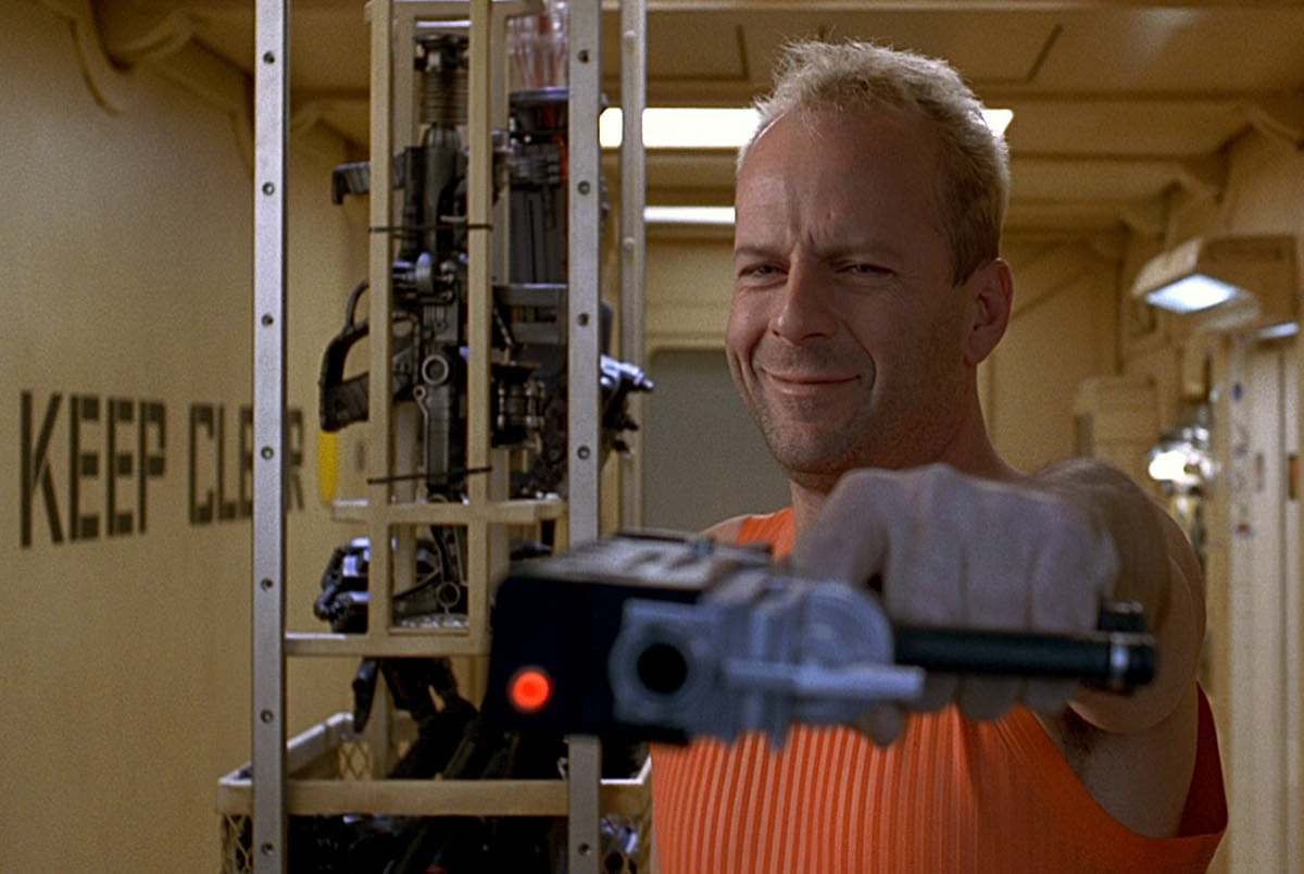 Cinquieme element bruce willis besson