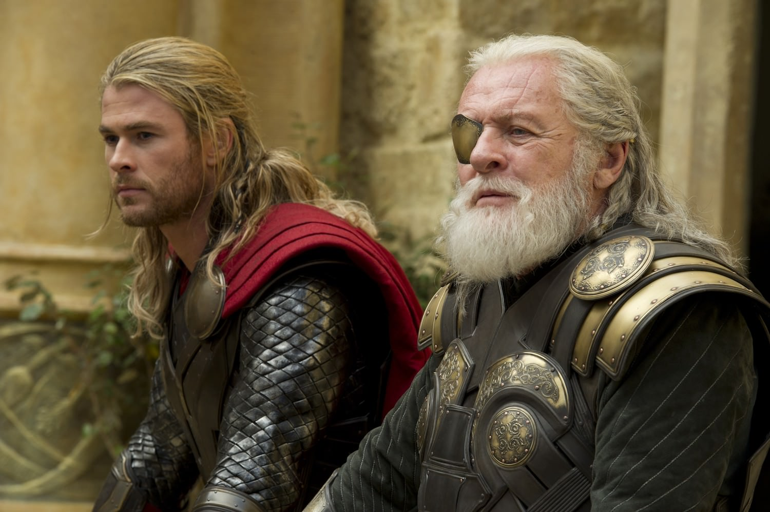 Thor 2 chris hemsworth anthony hopkins