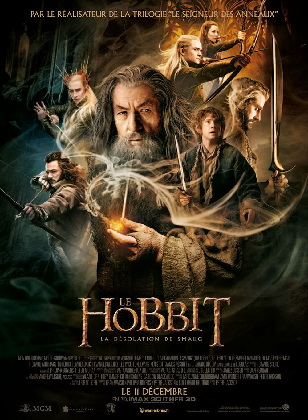 Le hobbit la desolation de smaug peter jackson