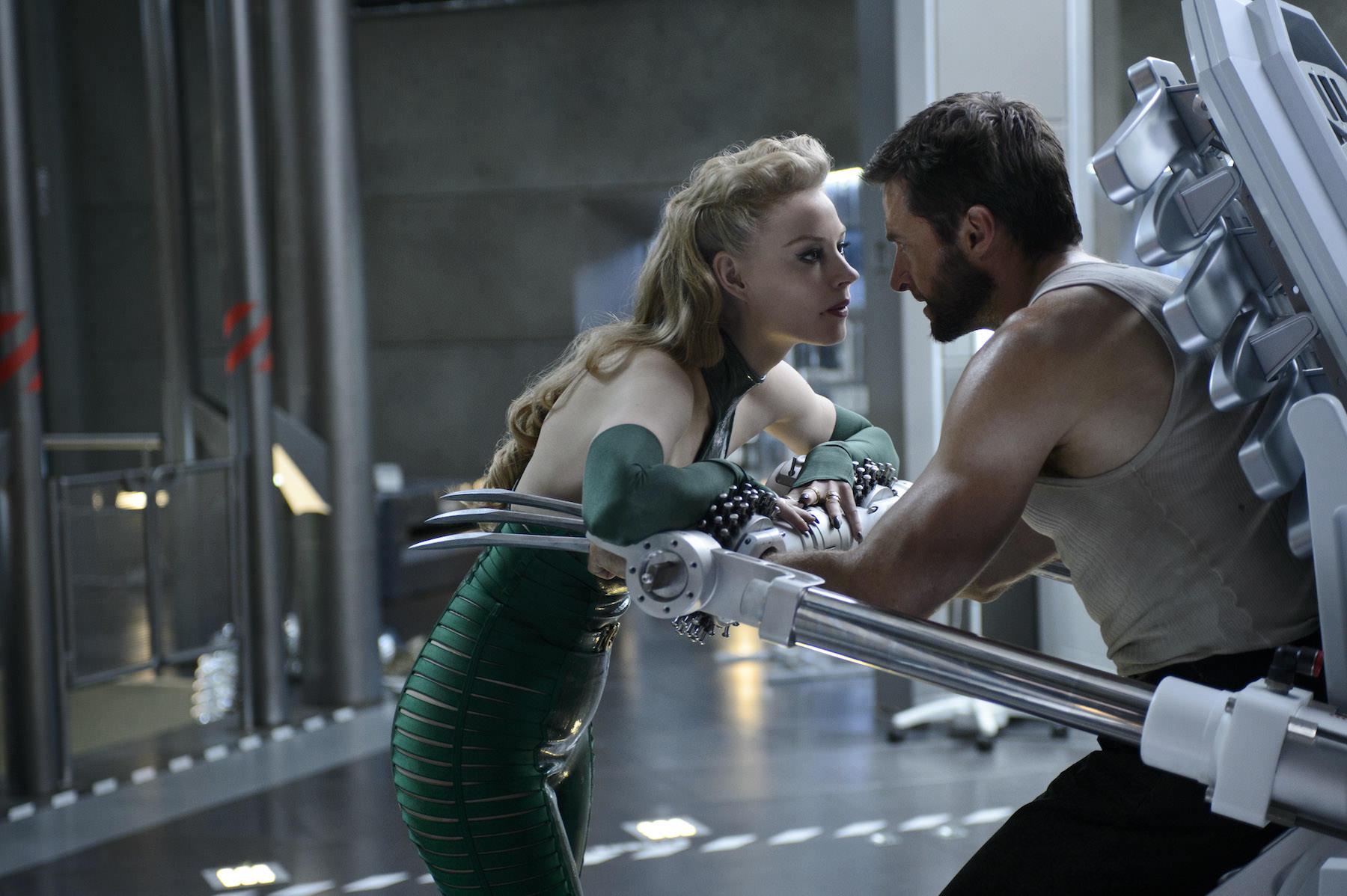 Wolverine combat immortel svetlana khodchenkova jackman