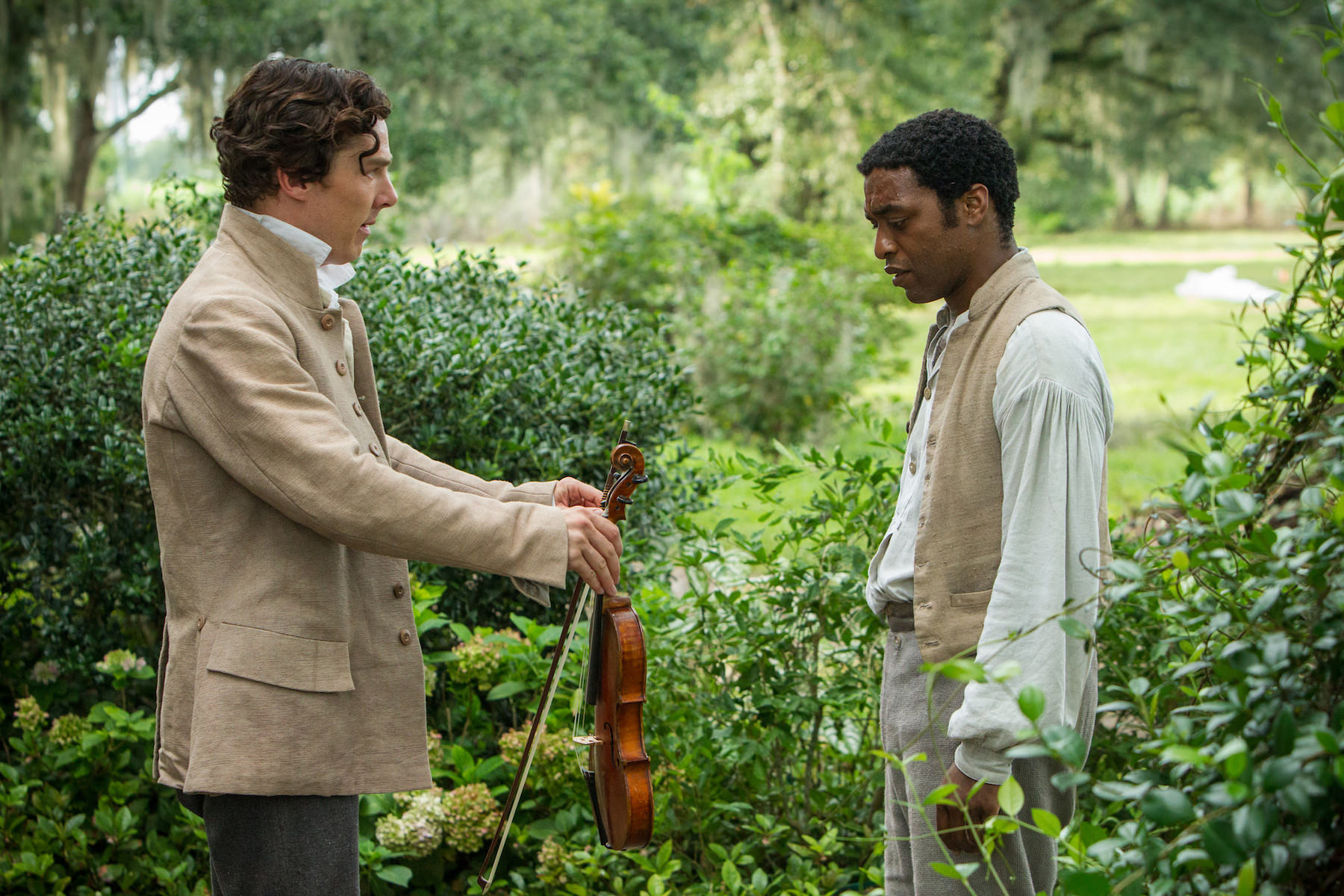 12 years a slave benedict cumberbatch chiwetel ejiofor