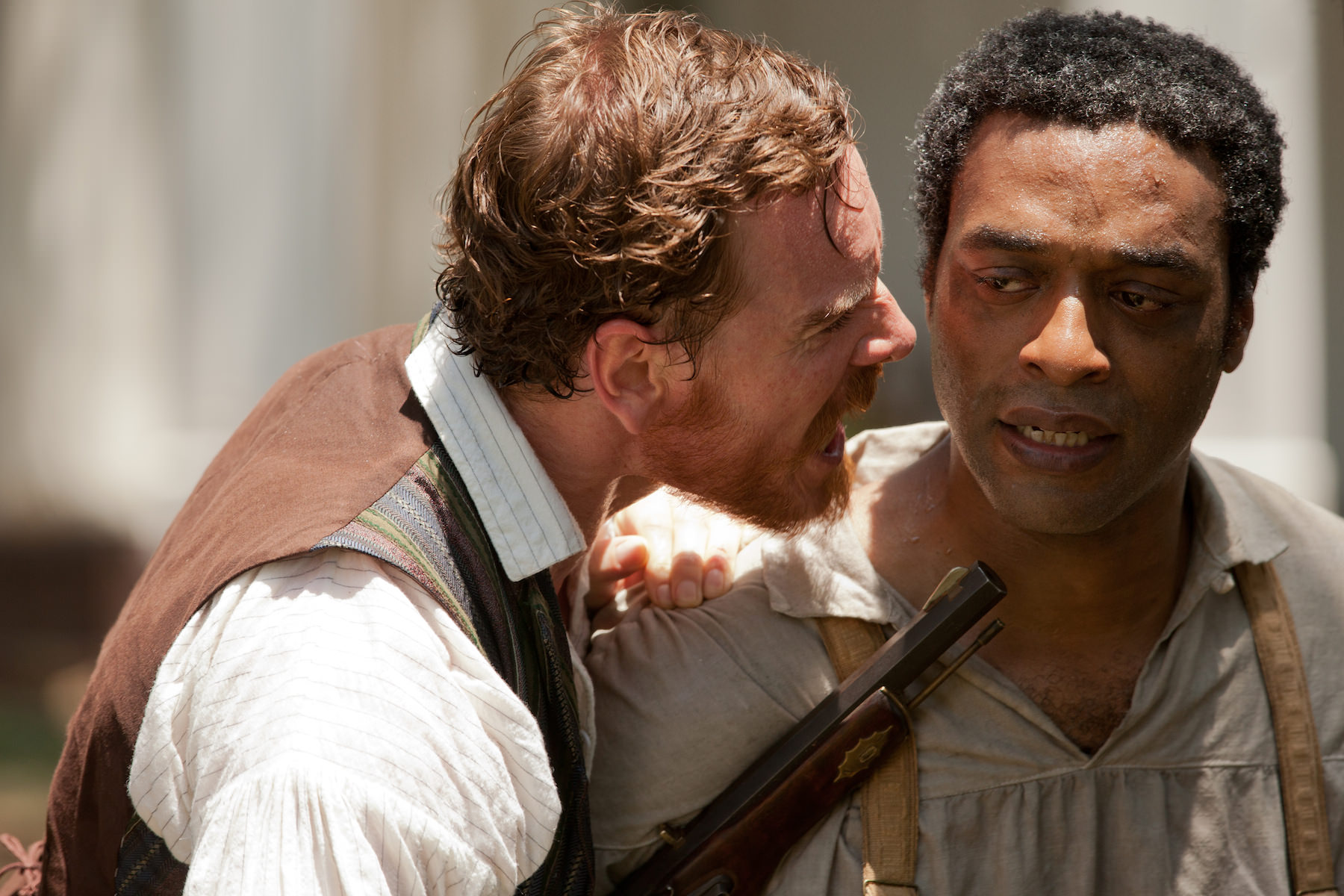 12 years a slave chiwetel ejiofor michael fassbender mcqueen
