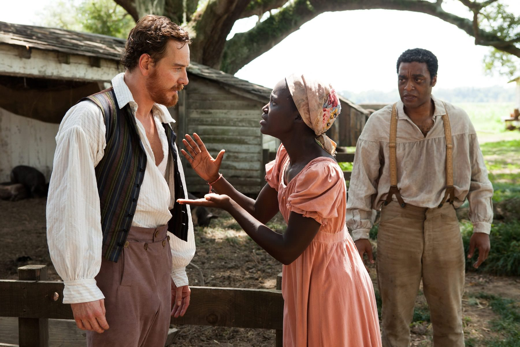 12 years a slave mcqueen fassbender ejiofor nyongo