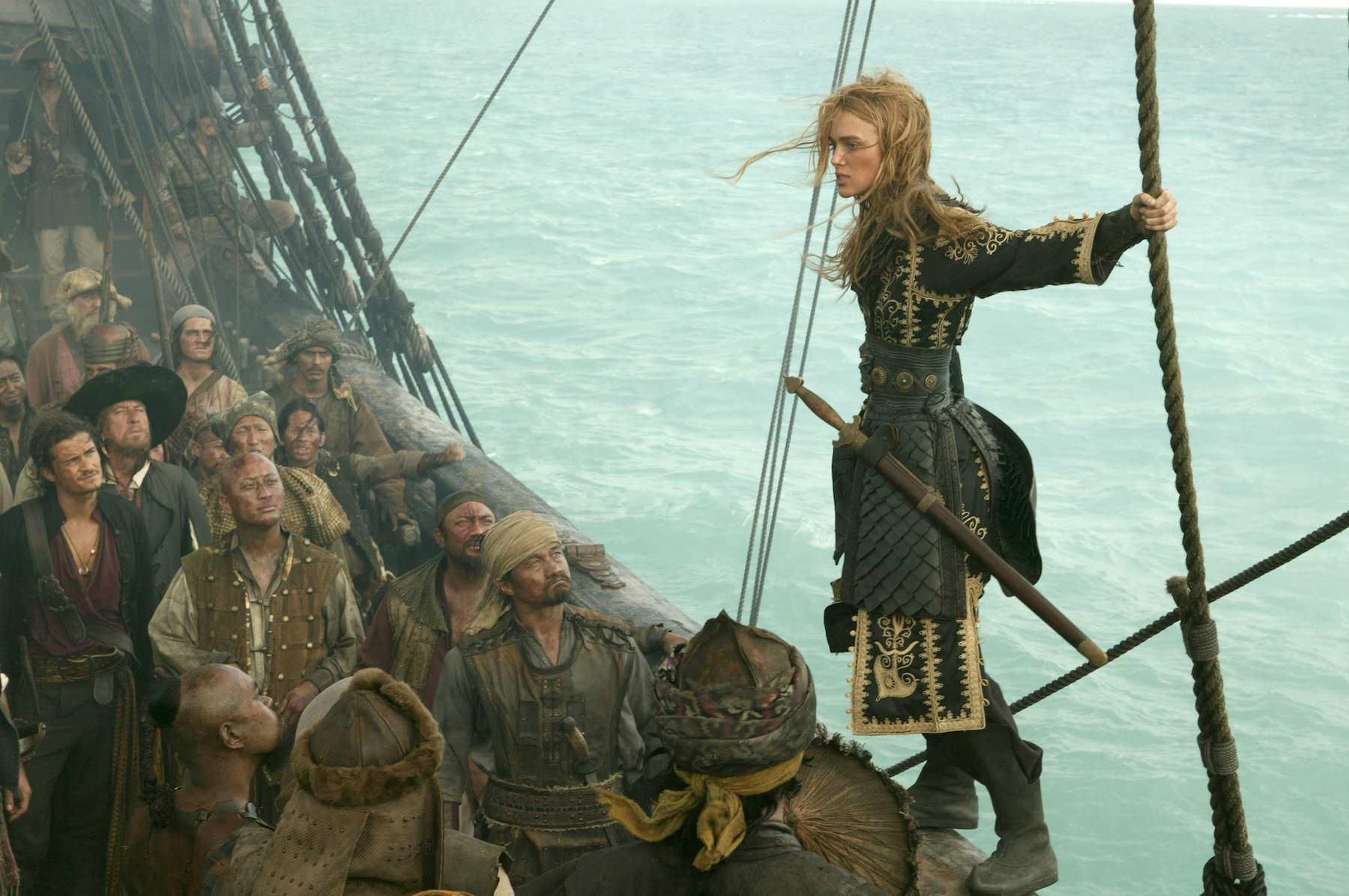 Pirates caraibes bout monde gore verbinski keira knightley