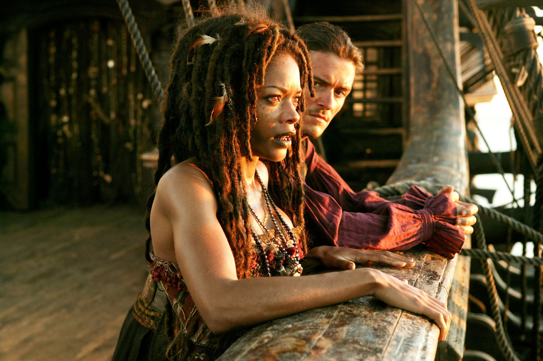 Pirates caraibes bout monde gore verbinski orlando bloom