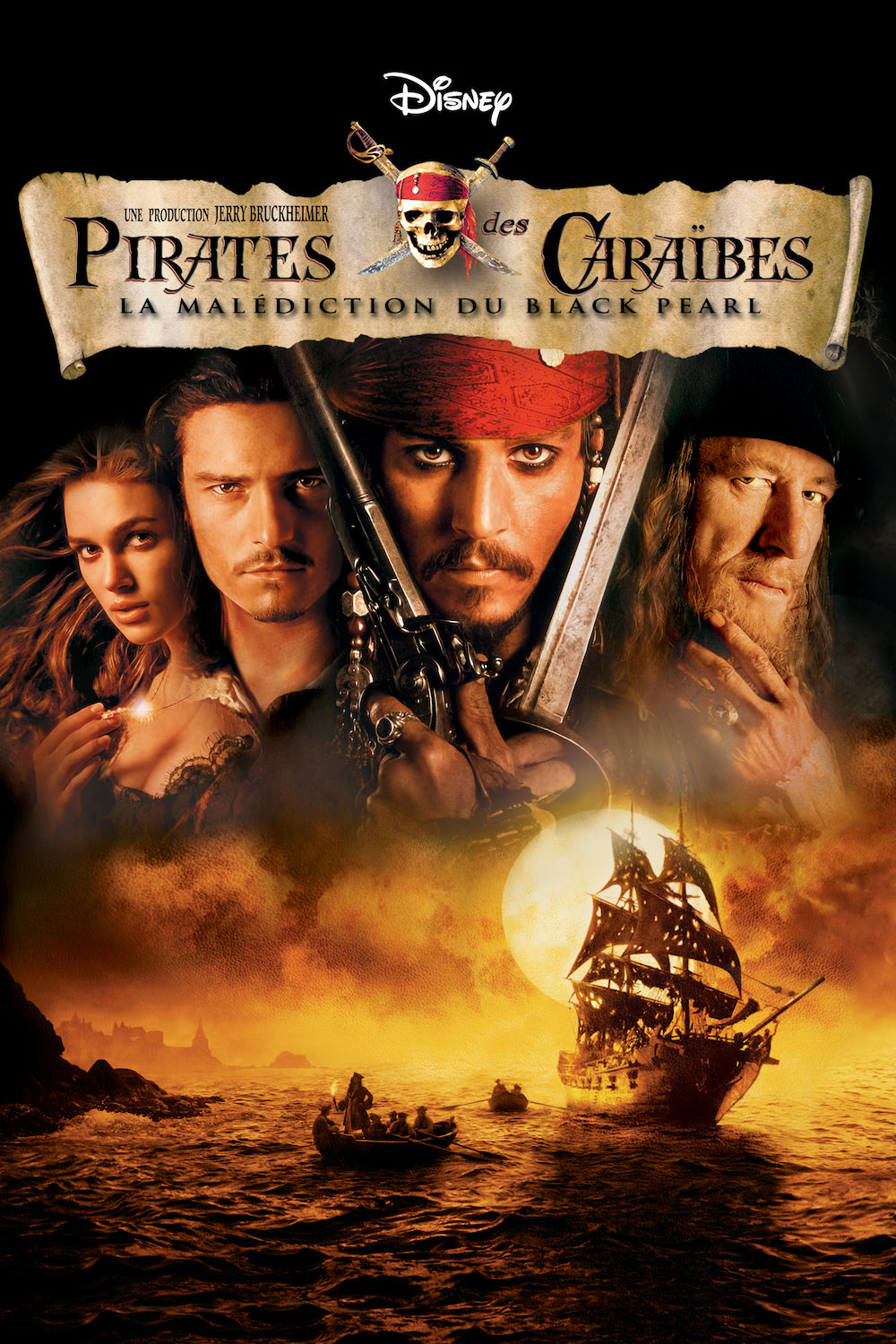 Pirates des caraibes malediction black pearl verbinski