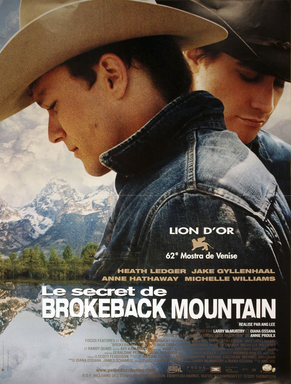 Secret brokeback mountain lee