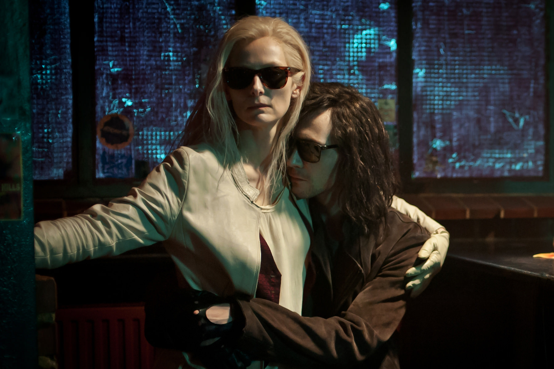 Only lovers left alive tilda swinton tom hiddleston