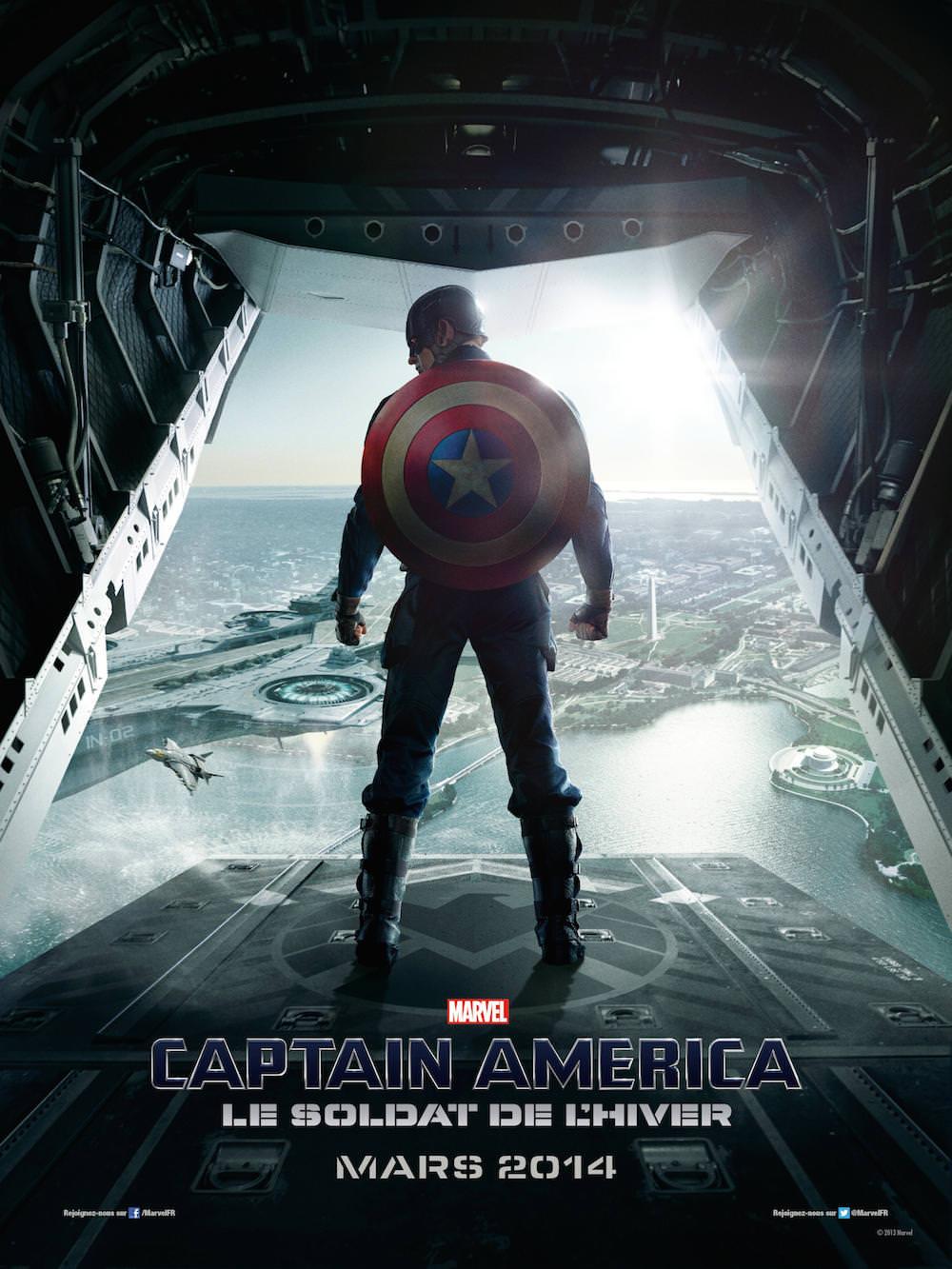 Captain america soldat hiver russo