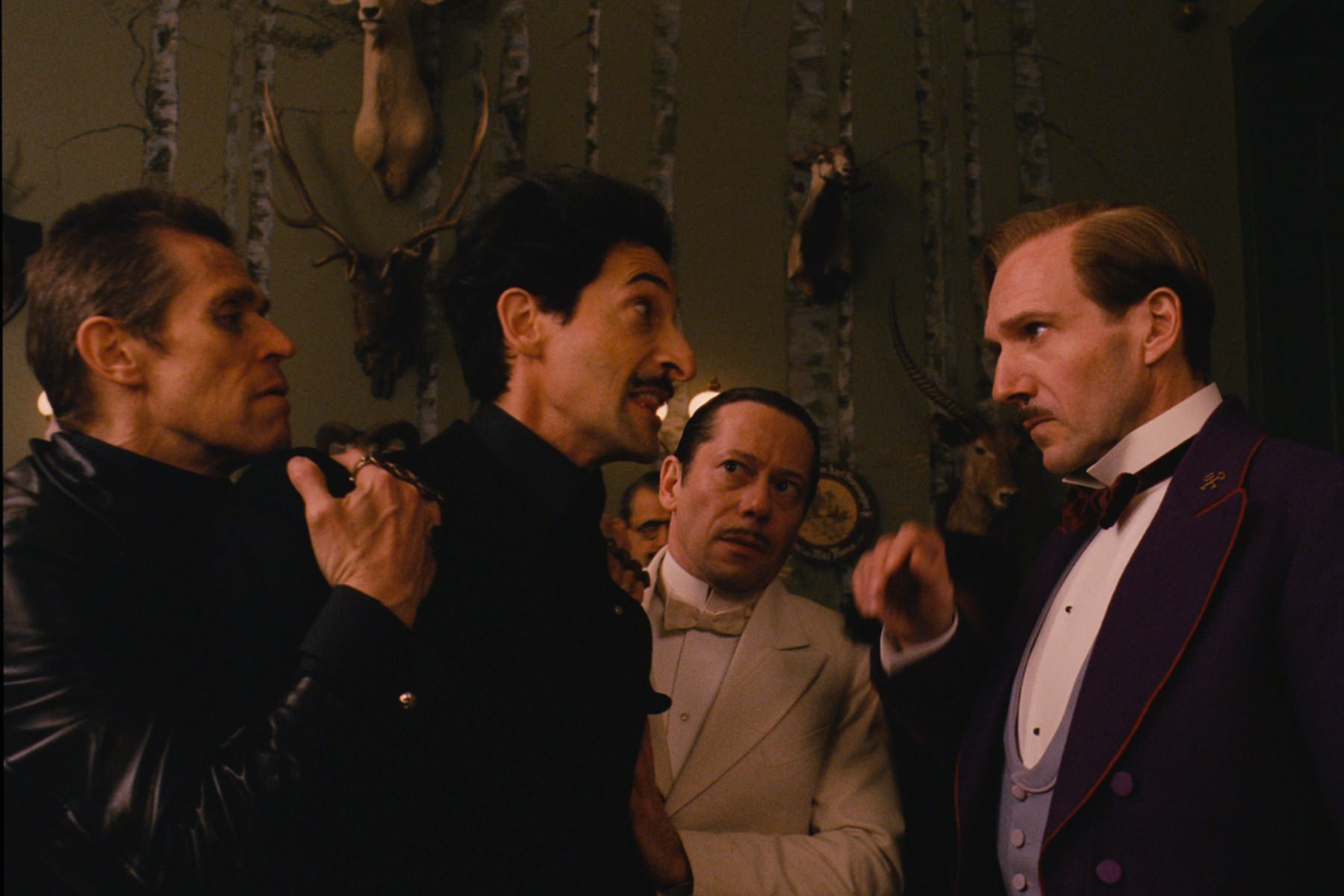 The grand budapest hotel ralph fiennes owen wilson