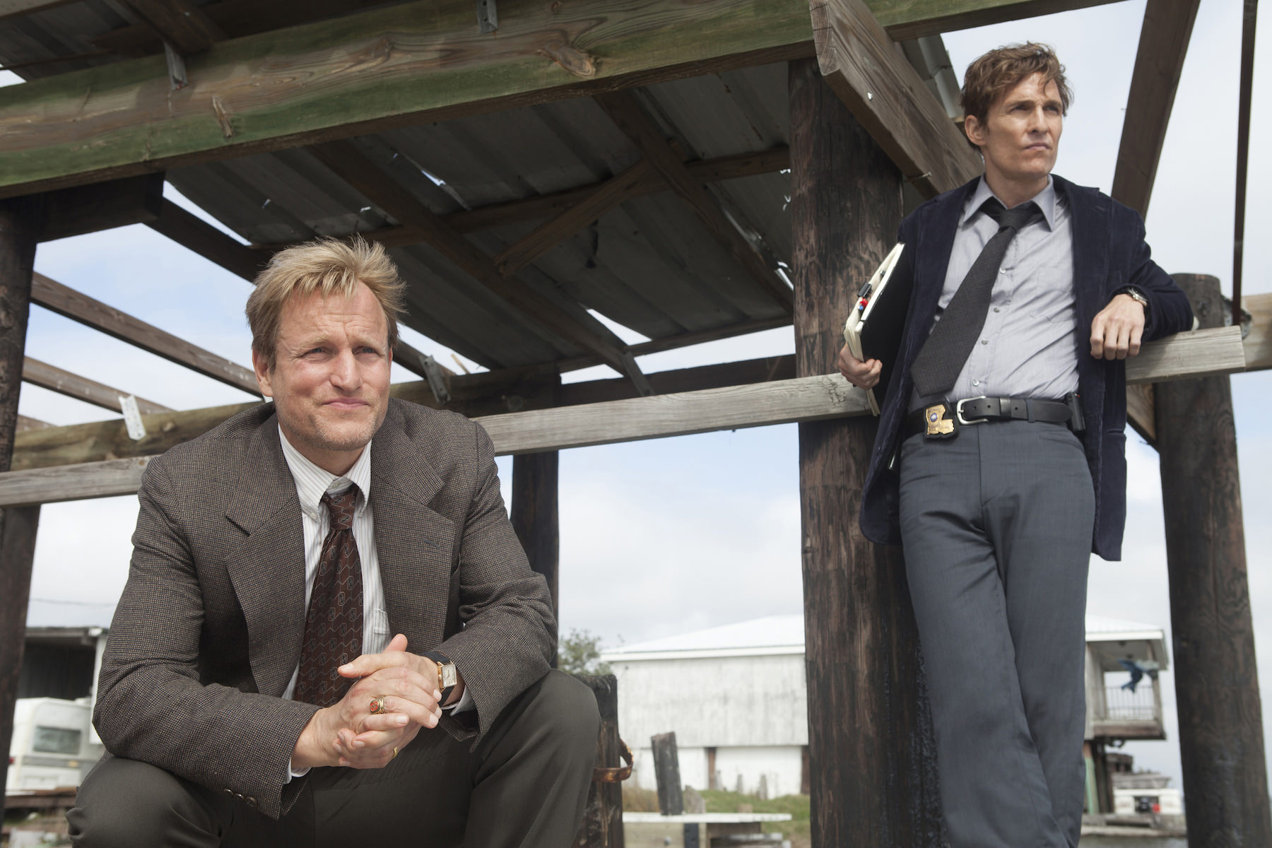 True detective matthew mcconaughey woody harrelson hbo