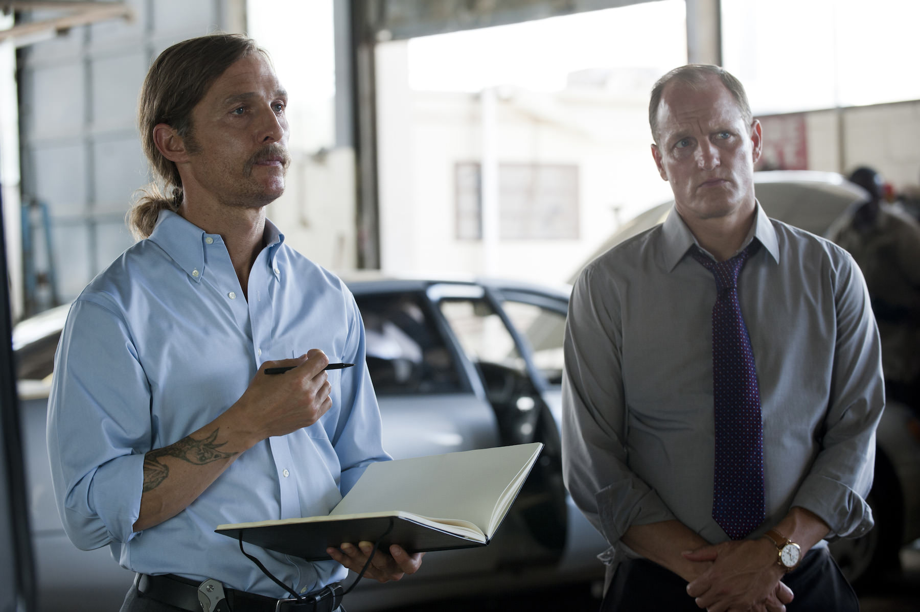 True detective pizzolatto woody harrelson matthew mcconaughey