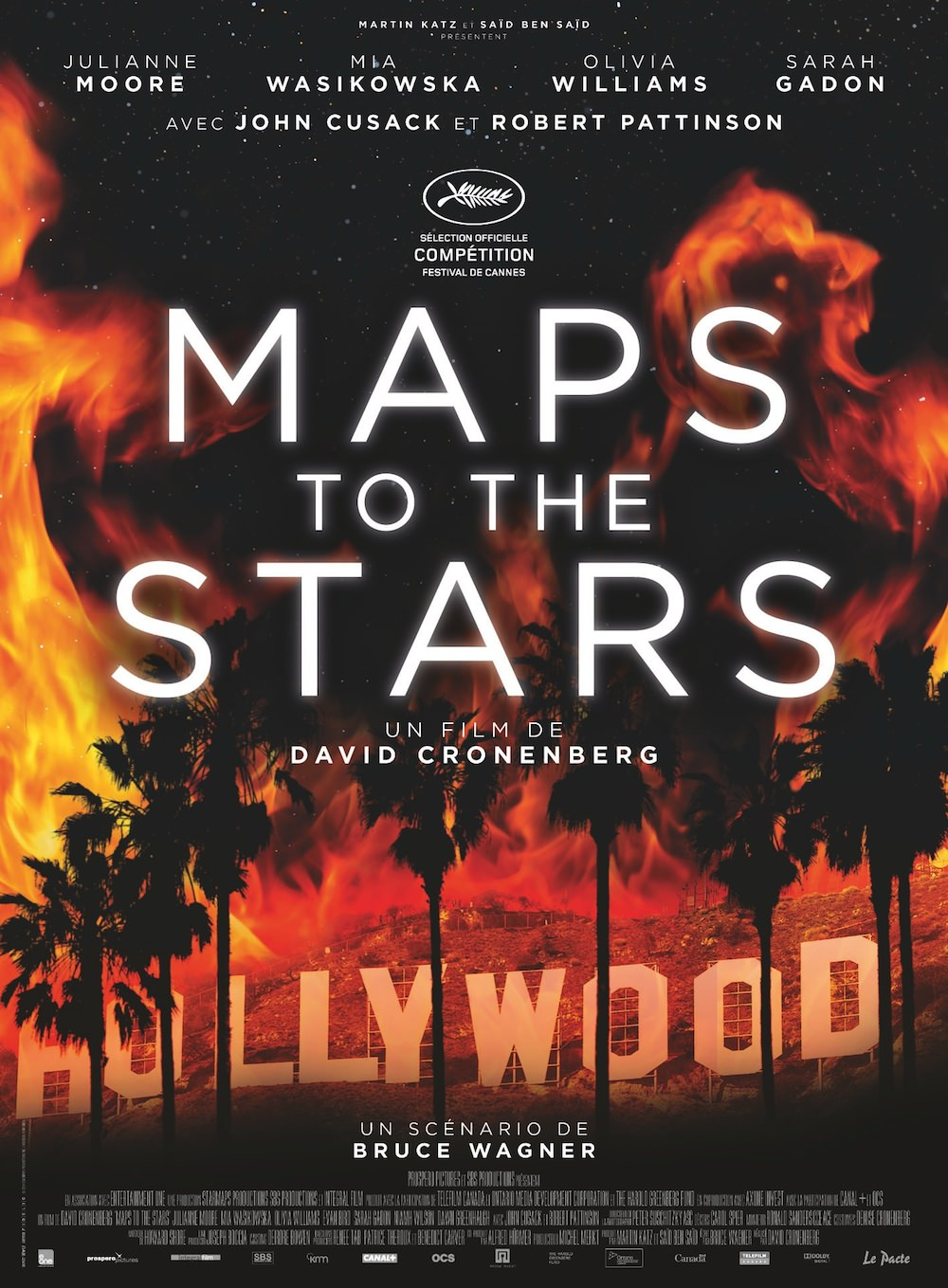 Maps to the stars cronenberg