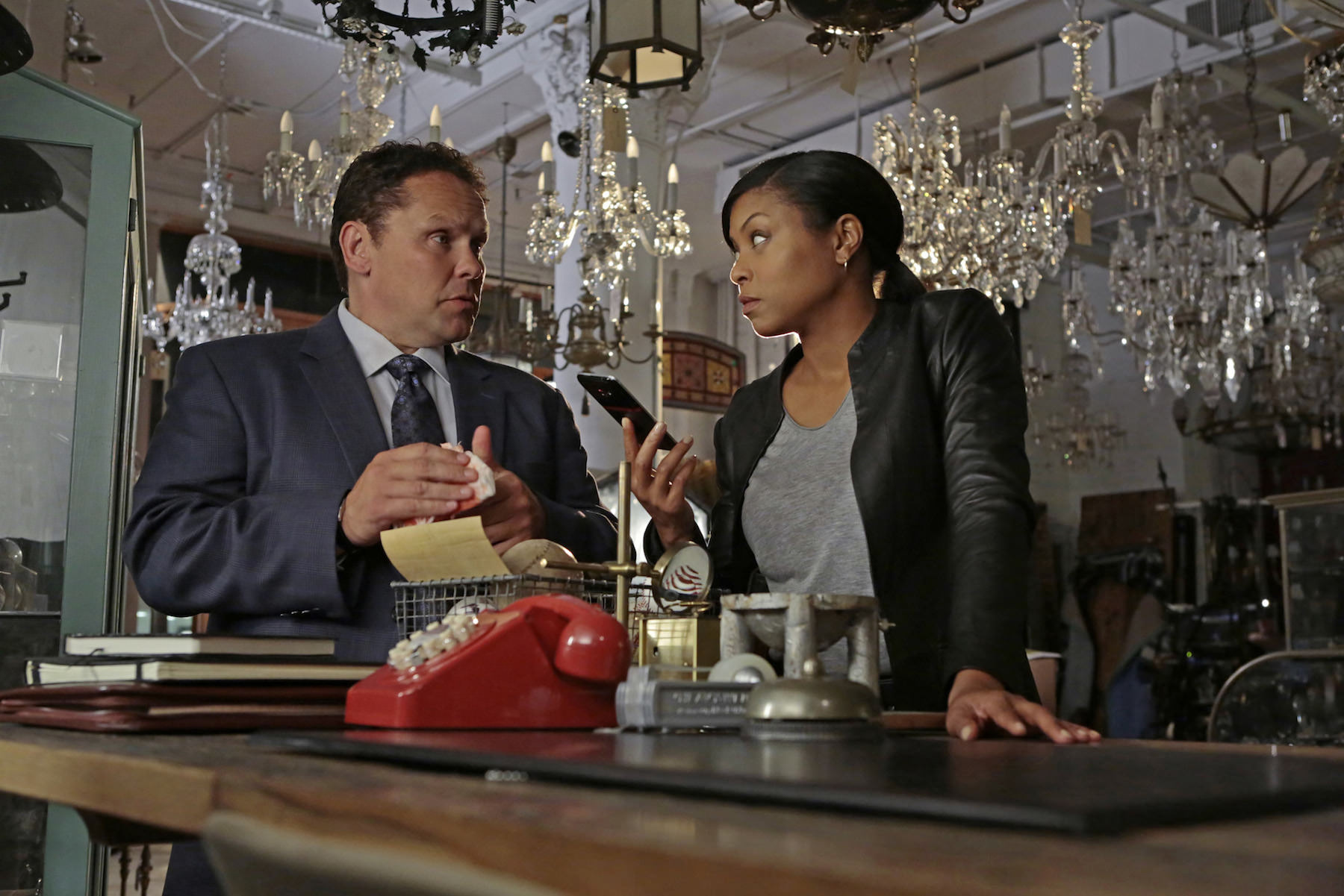 Person of interest taraji p henson kevin chapman