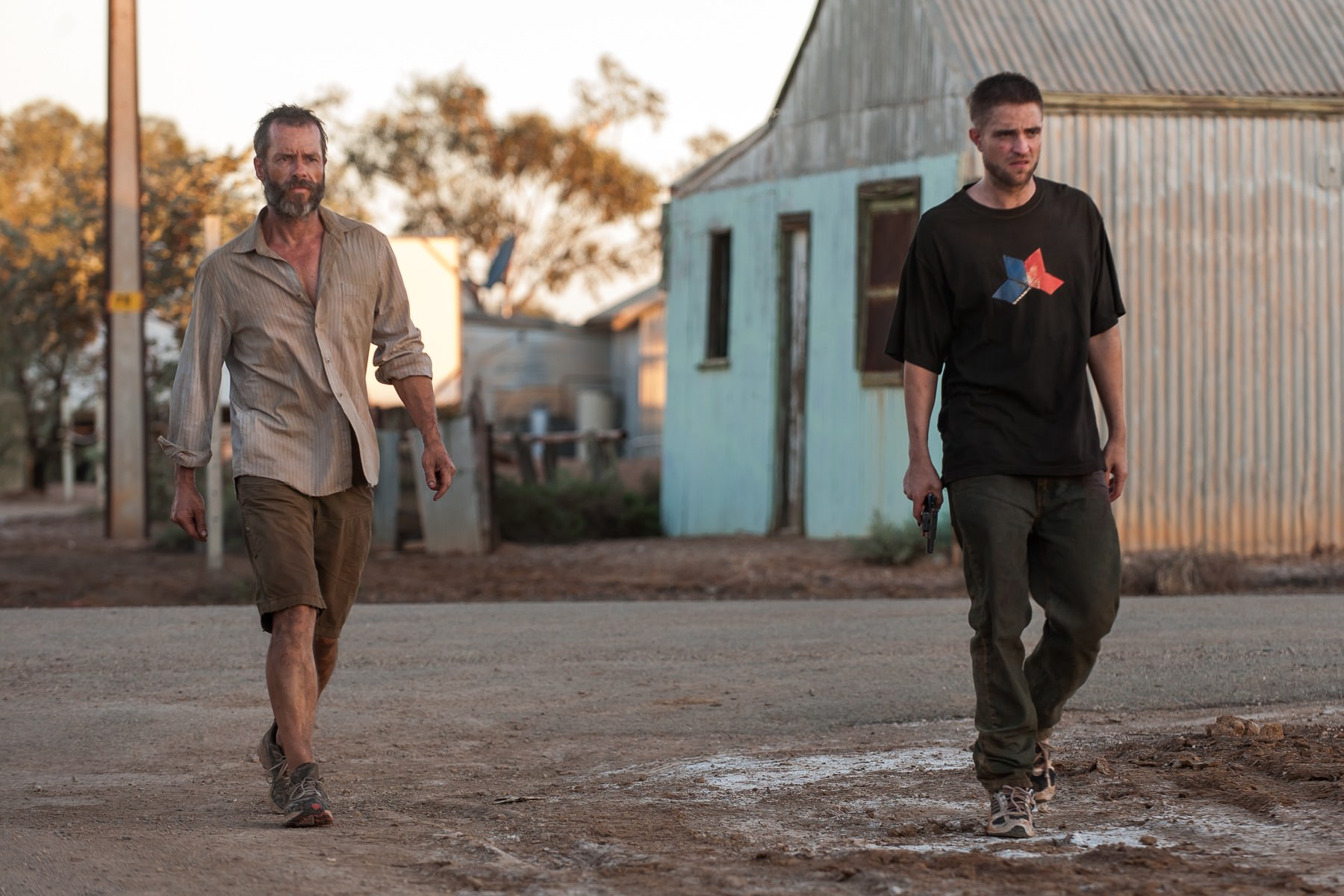 The rover david michod guy pearce robert pattinson