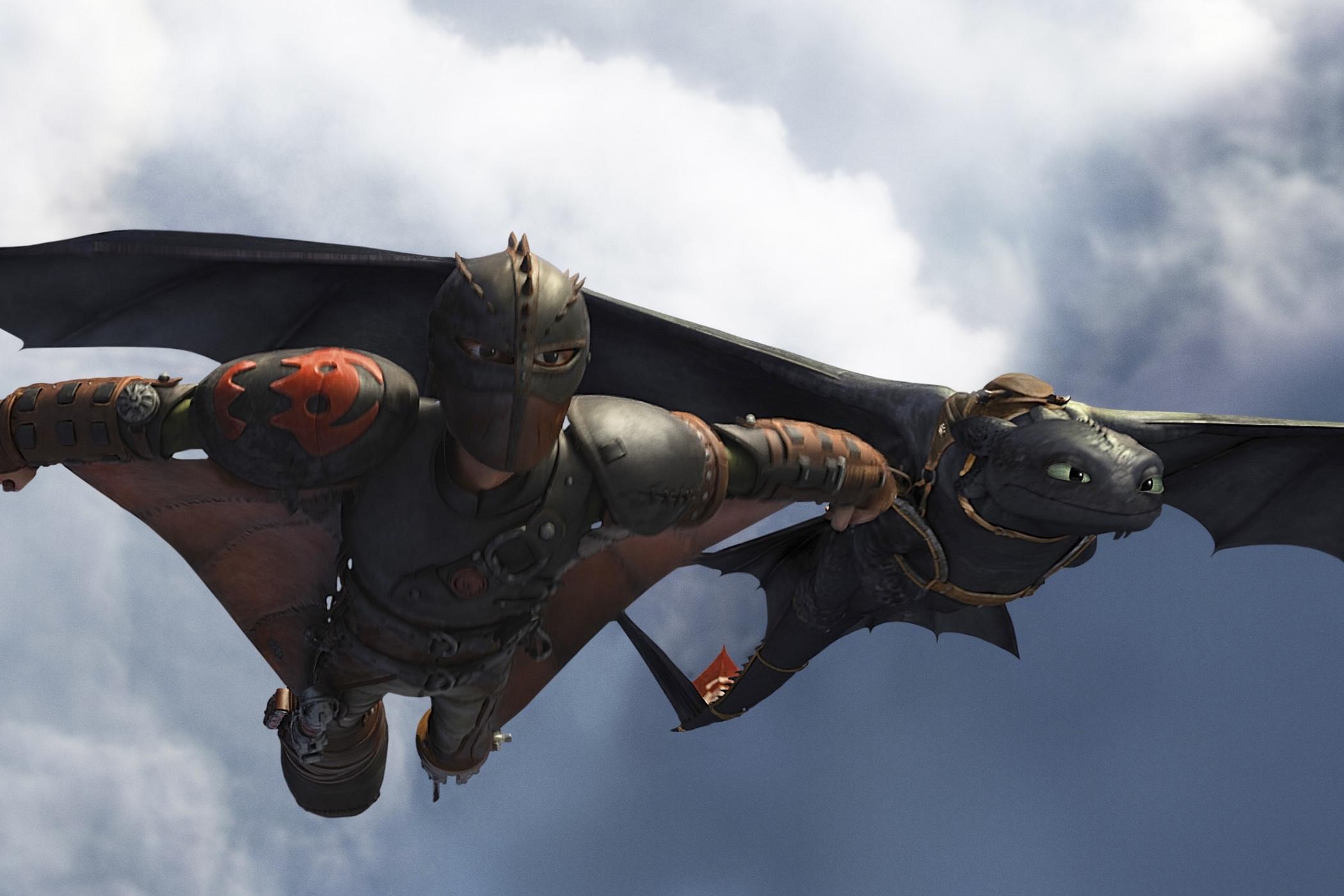 Deblois dragons 2
