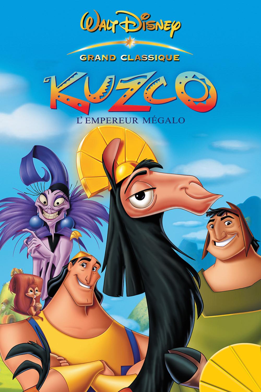 Kuzco empereur megalo disney