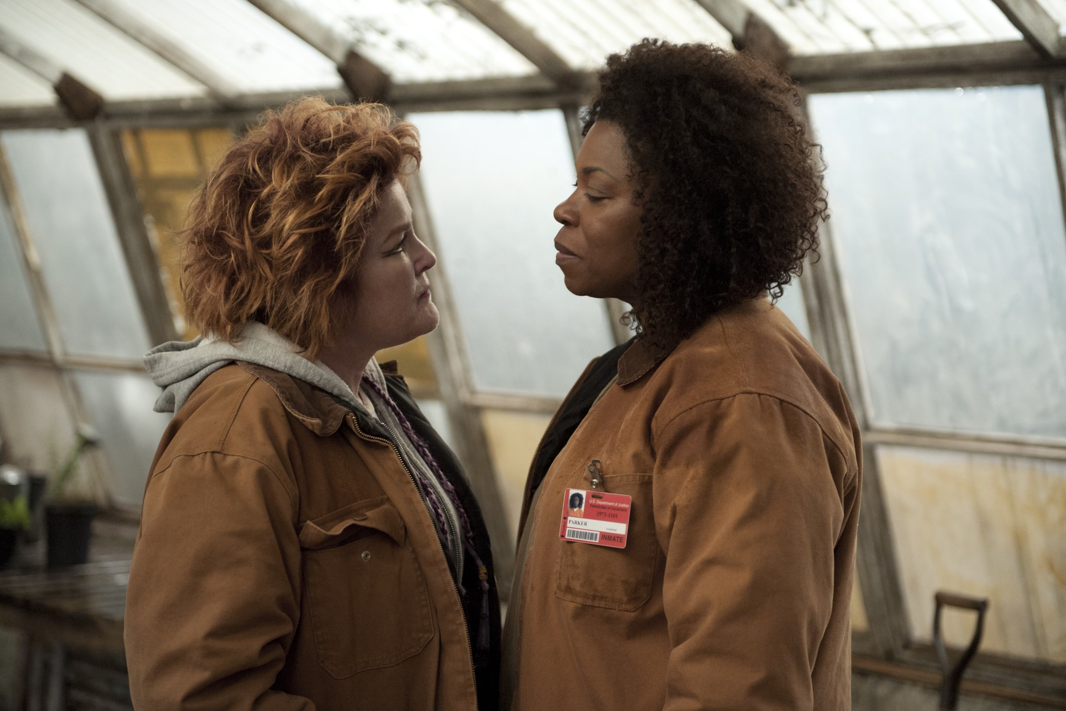 Orange is the new black kate mulgrew lorraine toussaint