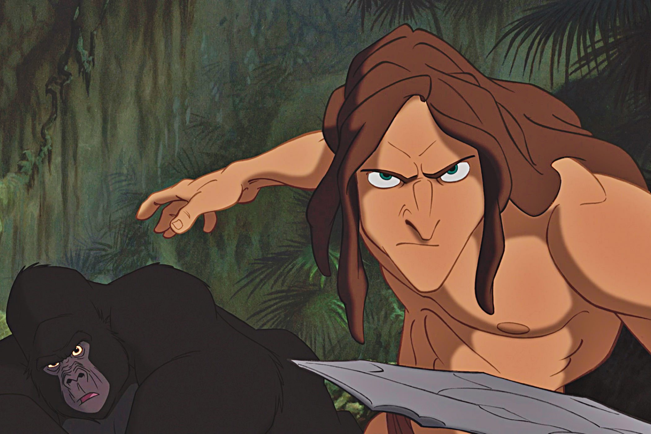 Tarzan buck lima
