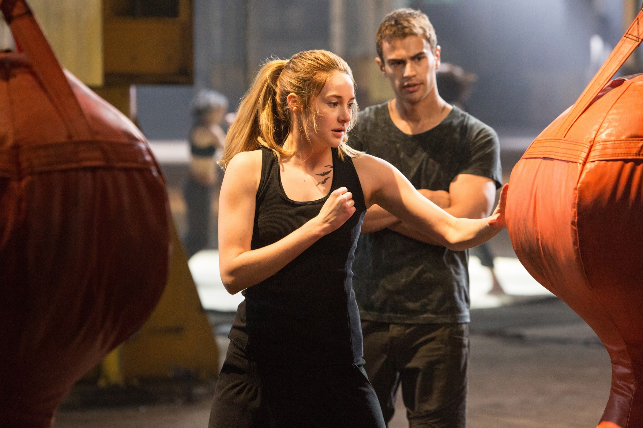 Divergente burger theo james shailene woodley
