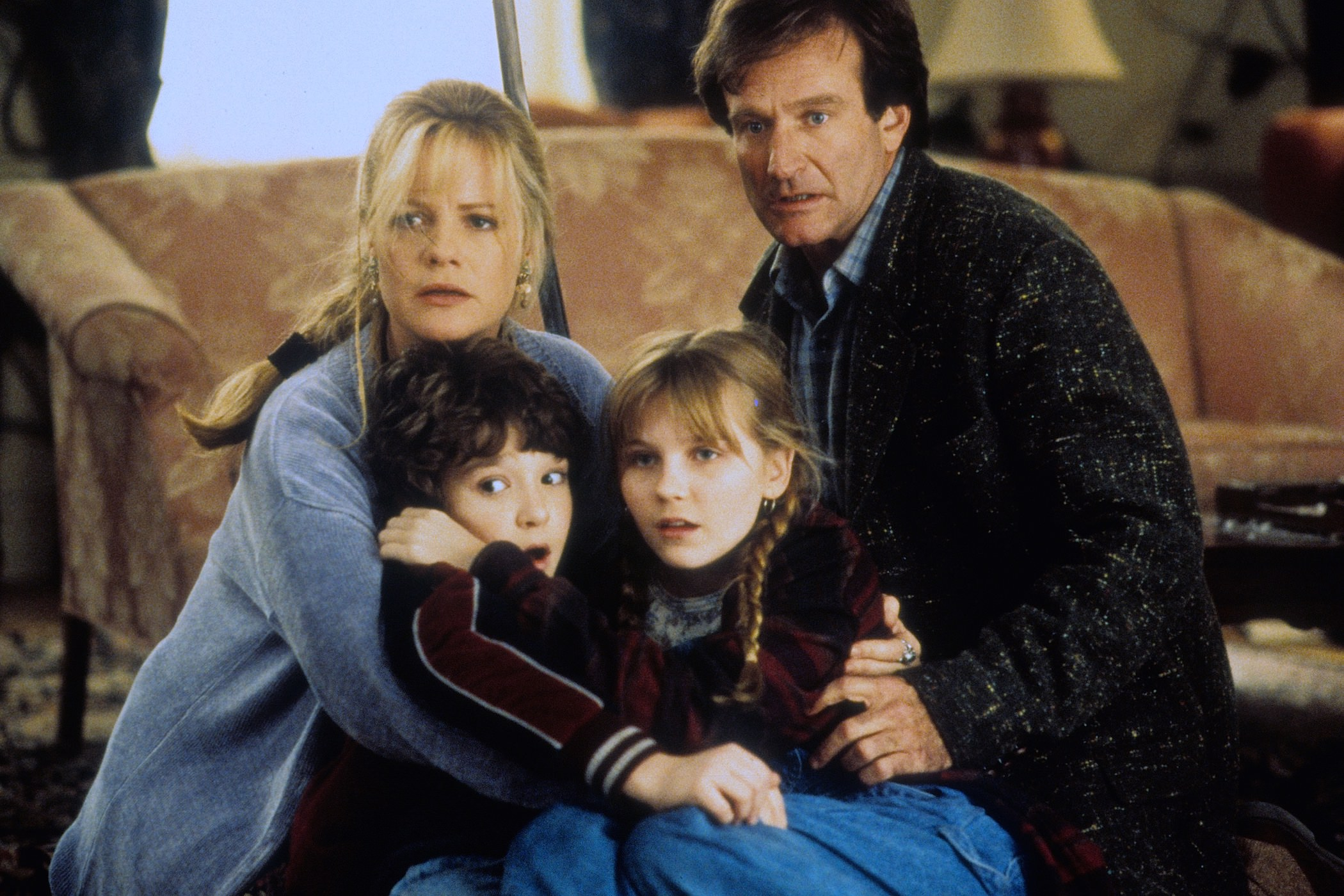 Jumanji bonnie hunt robin williams