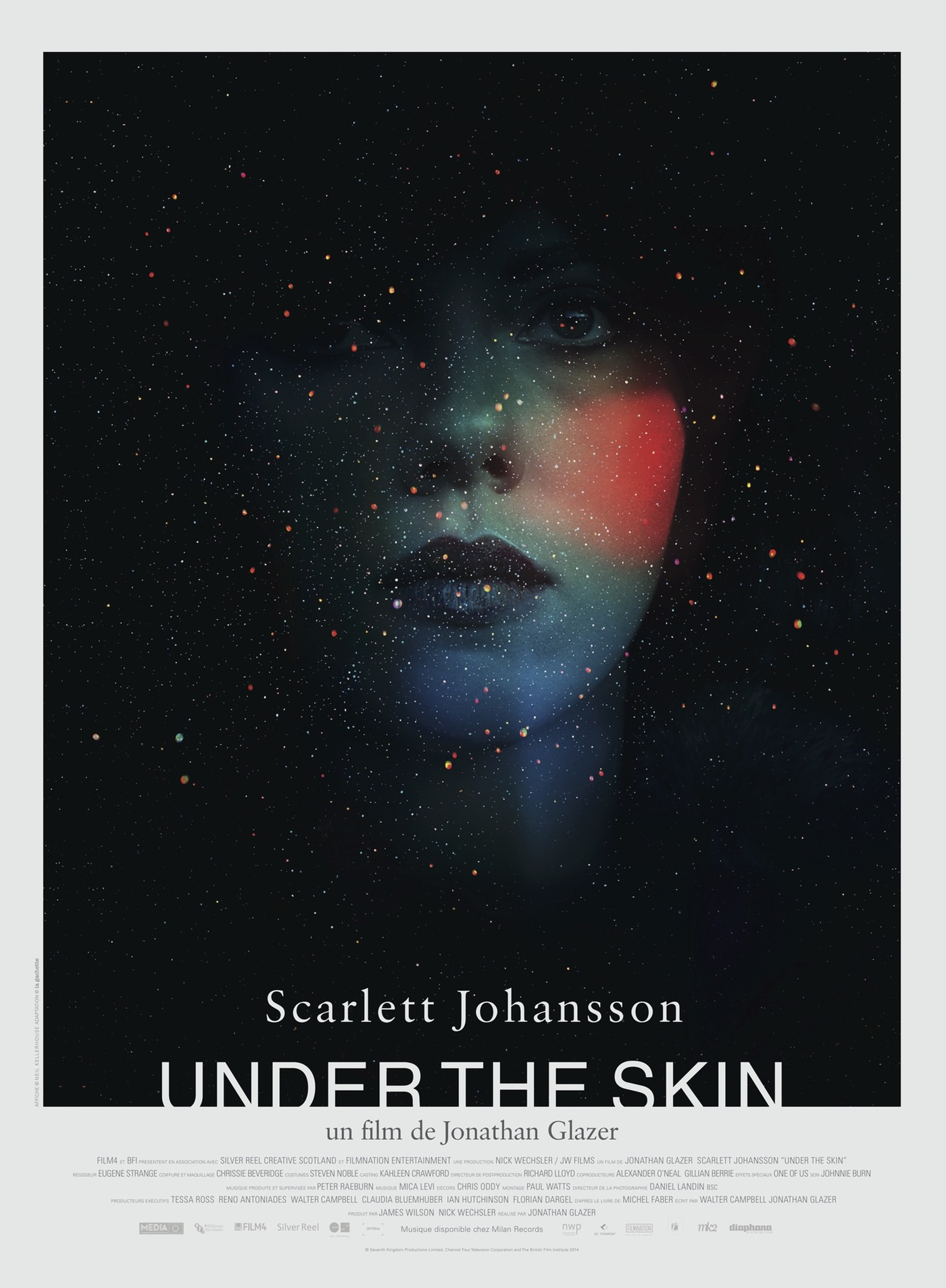 Under skin glazer
