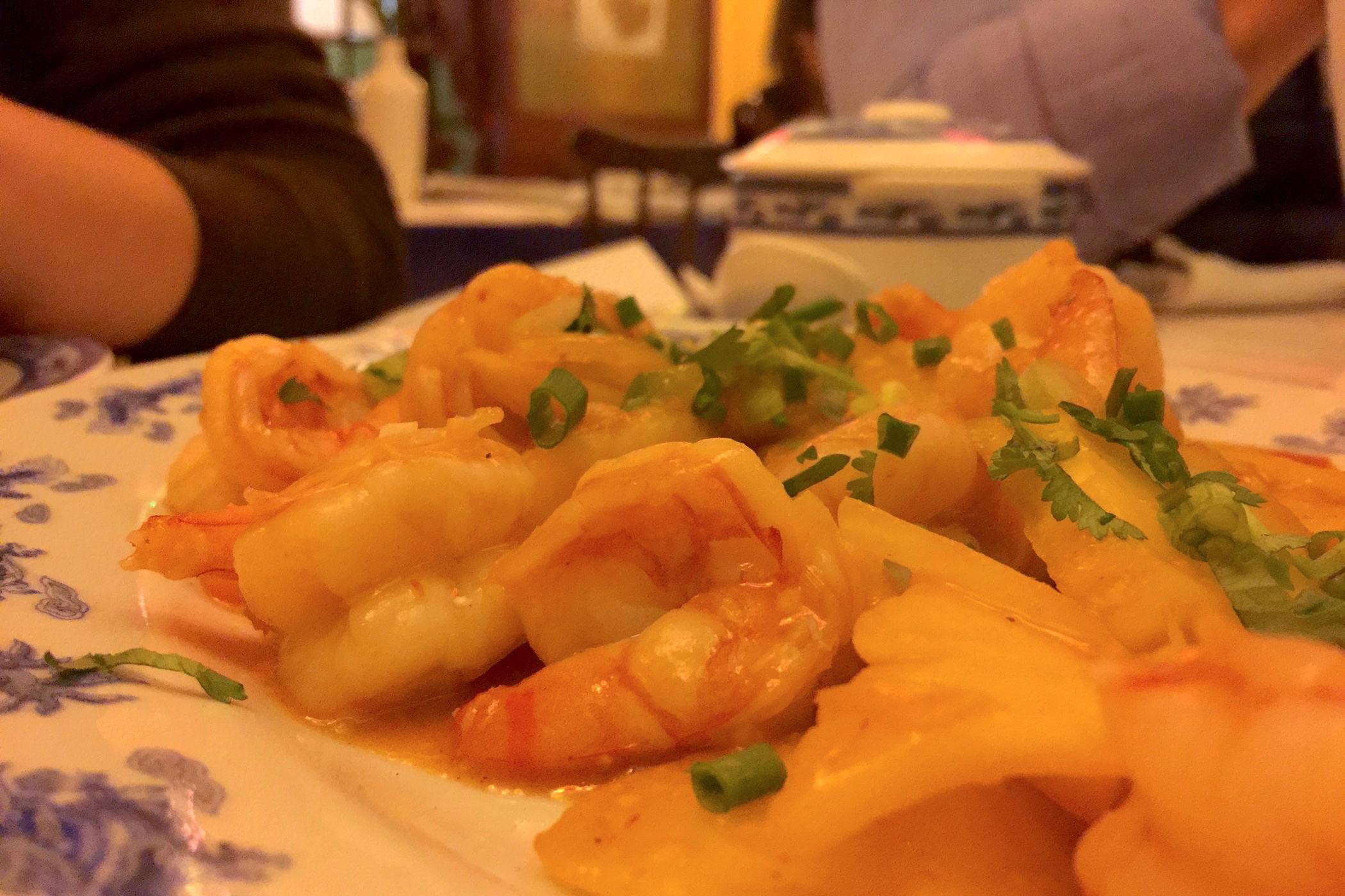 Hong ha crevettes mangue