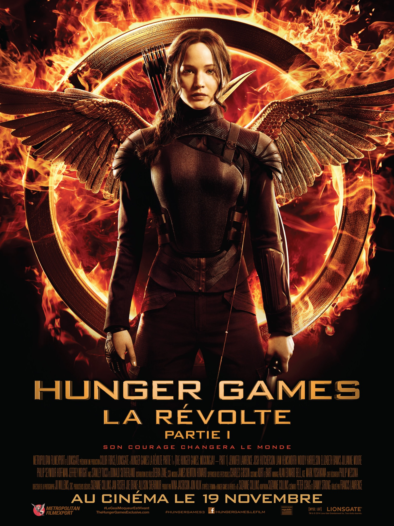 Hunger games revolte partie 1 lawrence