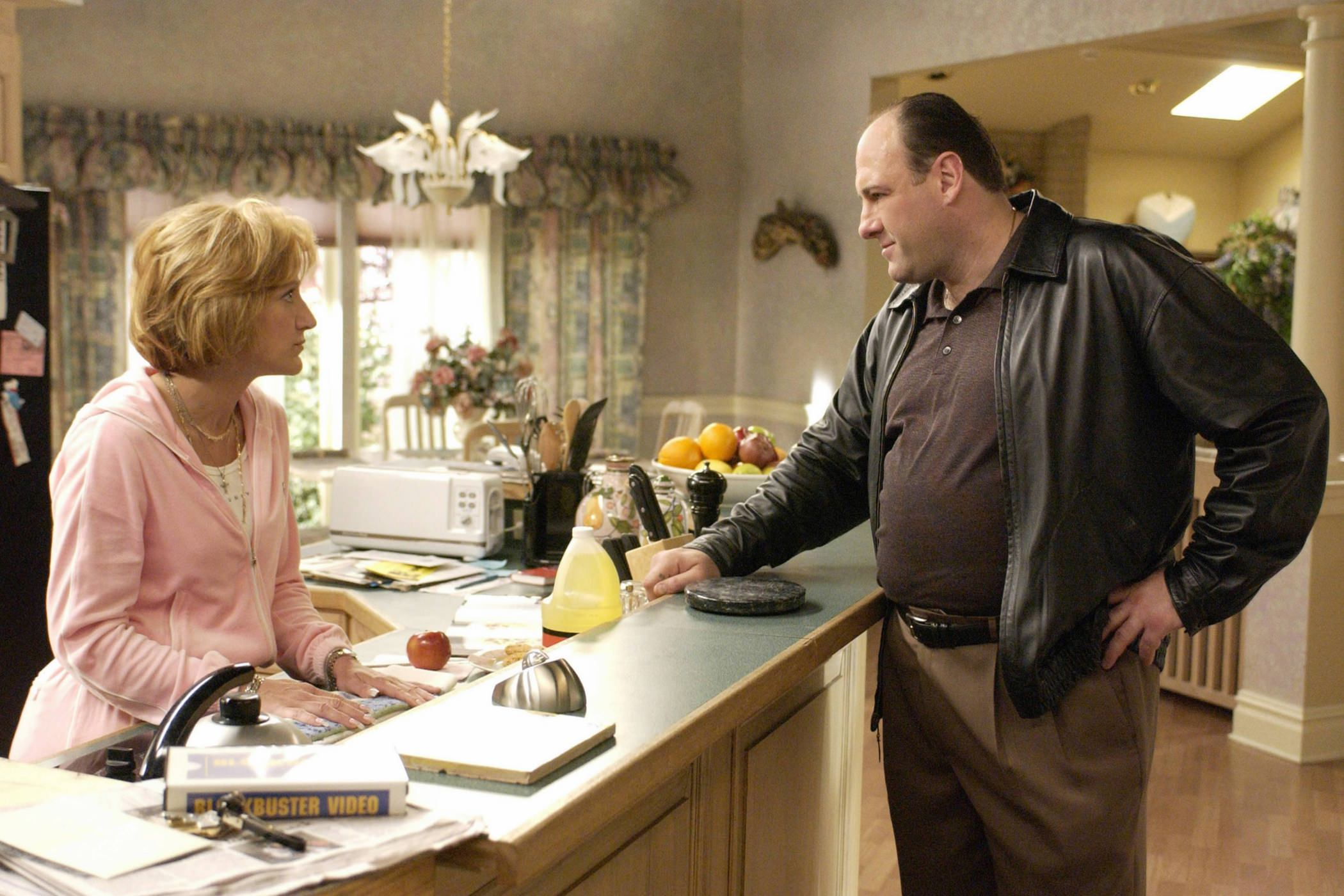 James gandolfini edie falco soprano