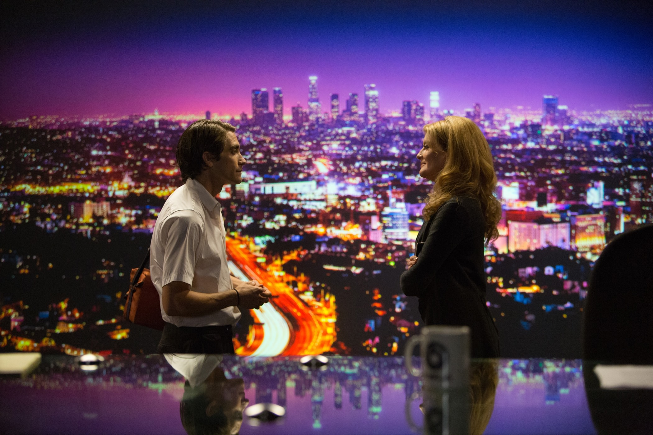 Night call jake gyllenhaal rene russo