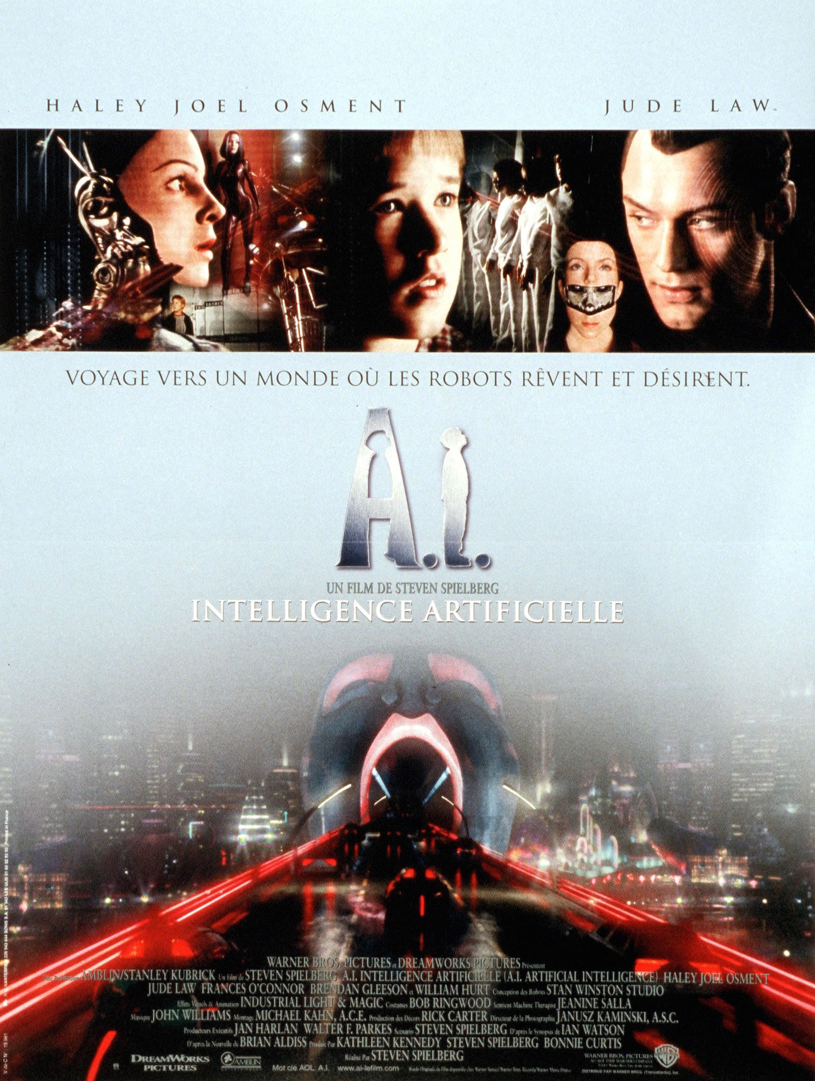A i intelligence artificielle spielberg