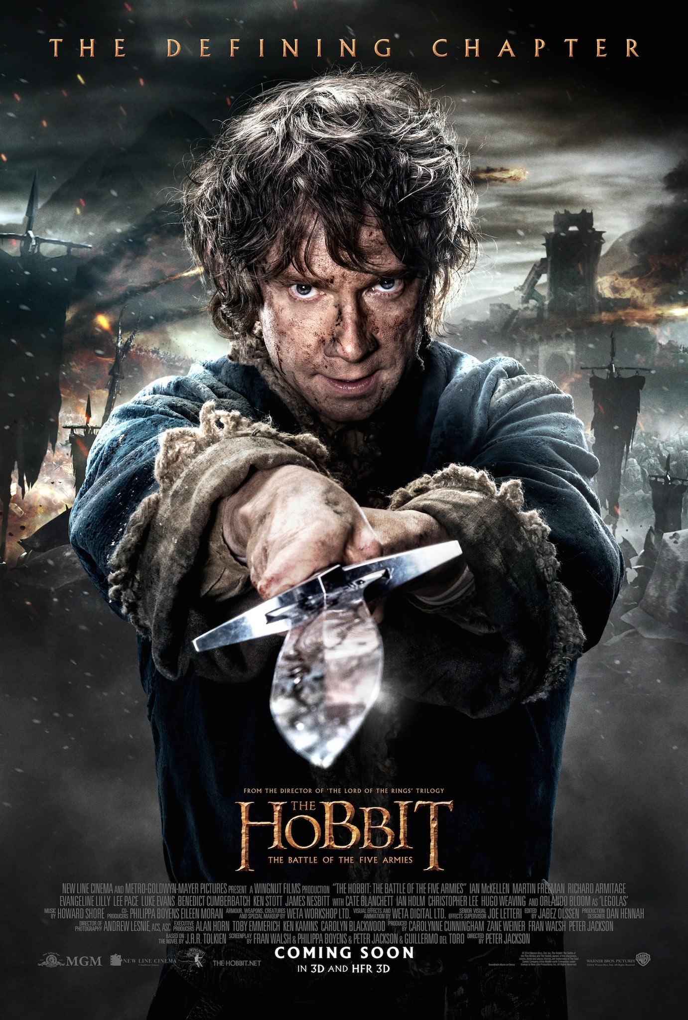 Hobbit bataille cinq armees peter jackson