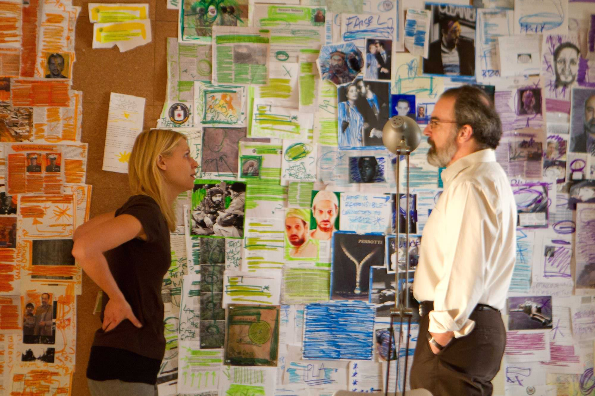 Homeland claire danes mandy patinkin