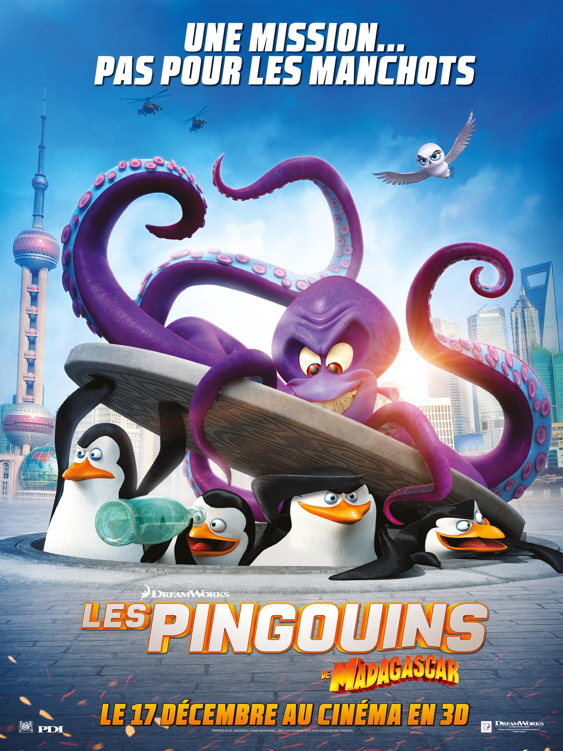 Pingouins madagascar smith darnell