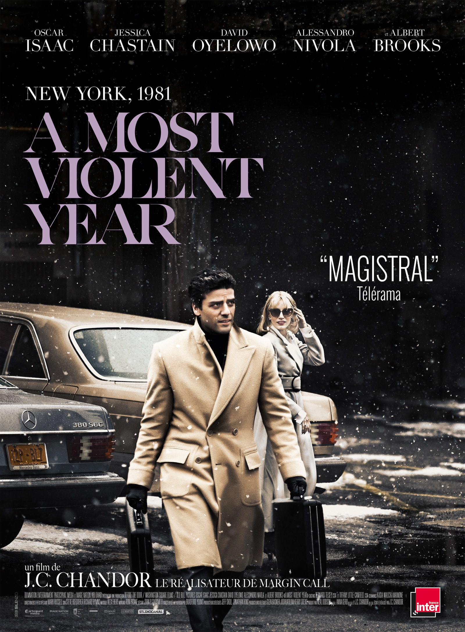 Most violent year j c chandor