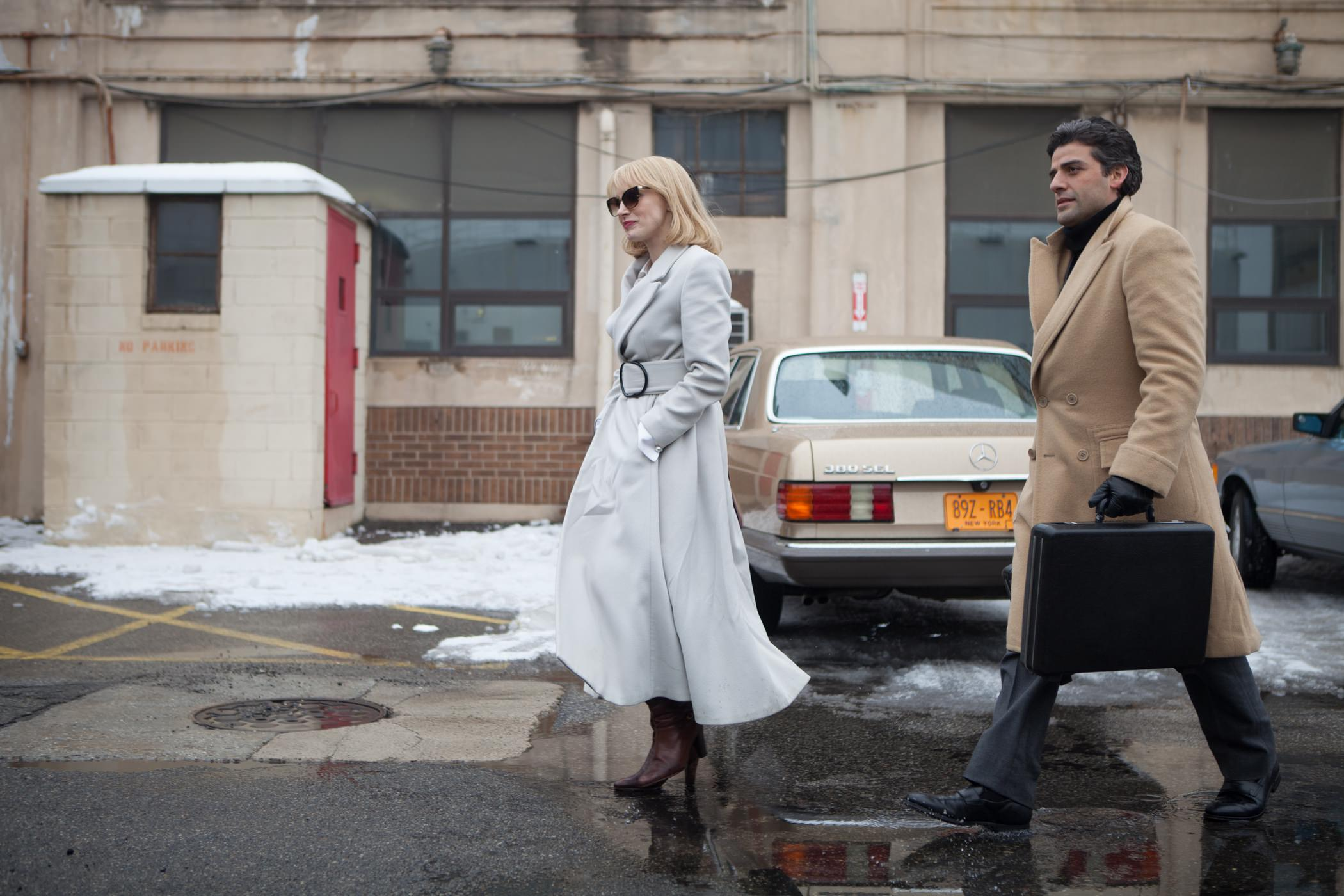 Most violent year jessica chastain oscar isaac
