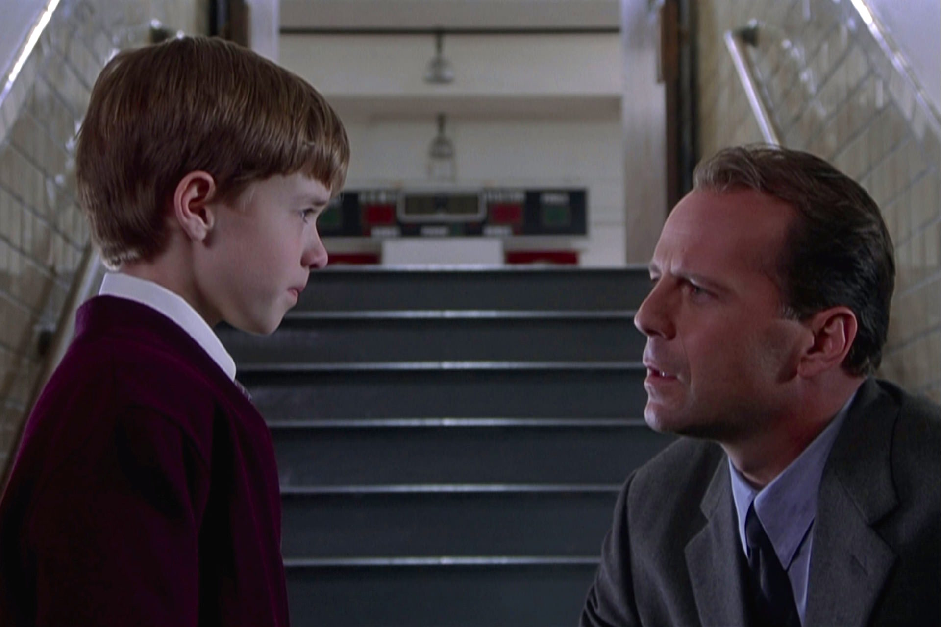 Sixieme sens haley joel osment bruce willis