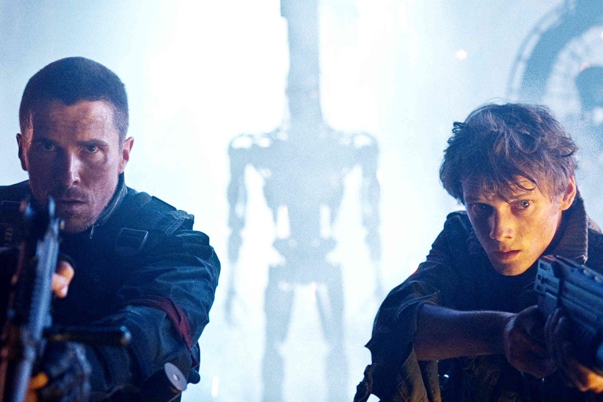 Terminator renaissance anton yelchin christian bale