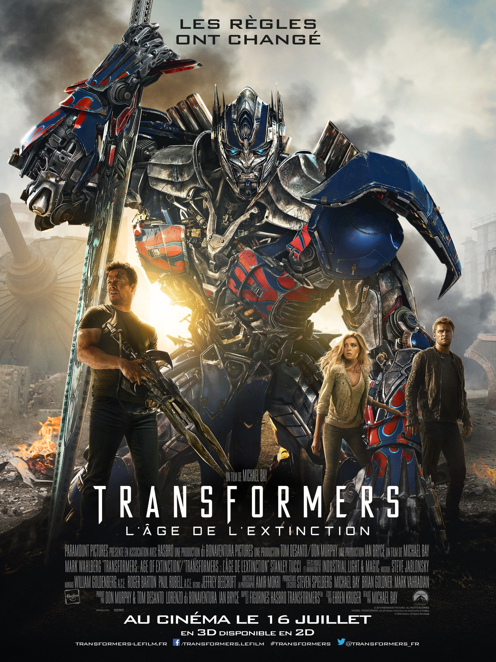 Transformers age extinction bay