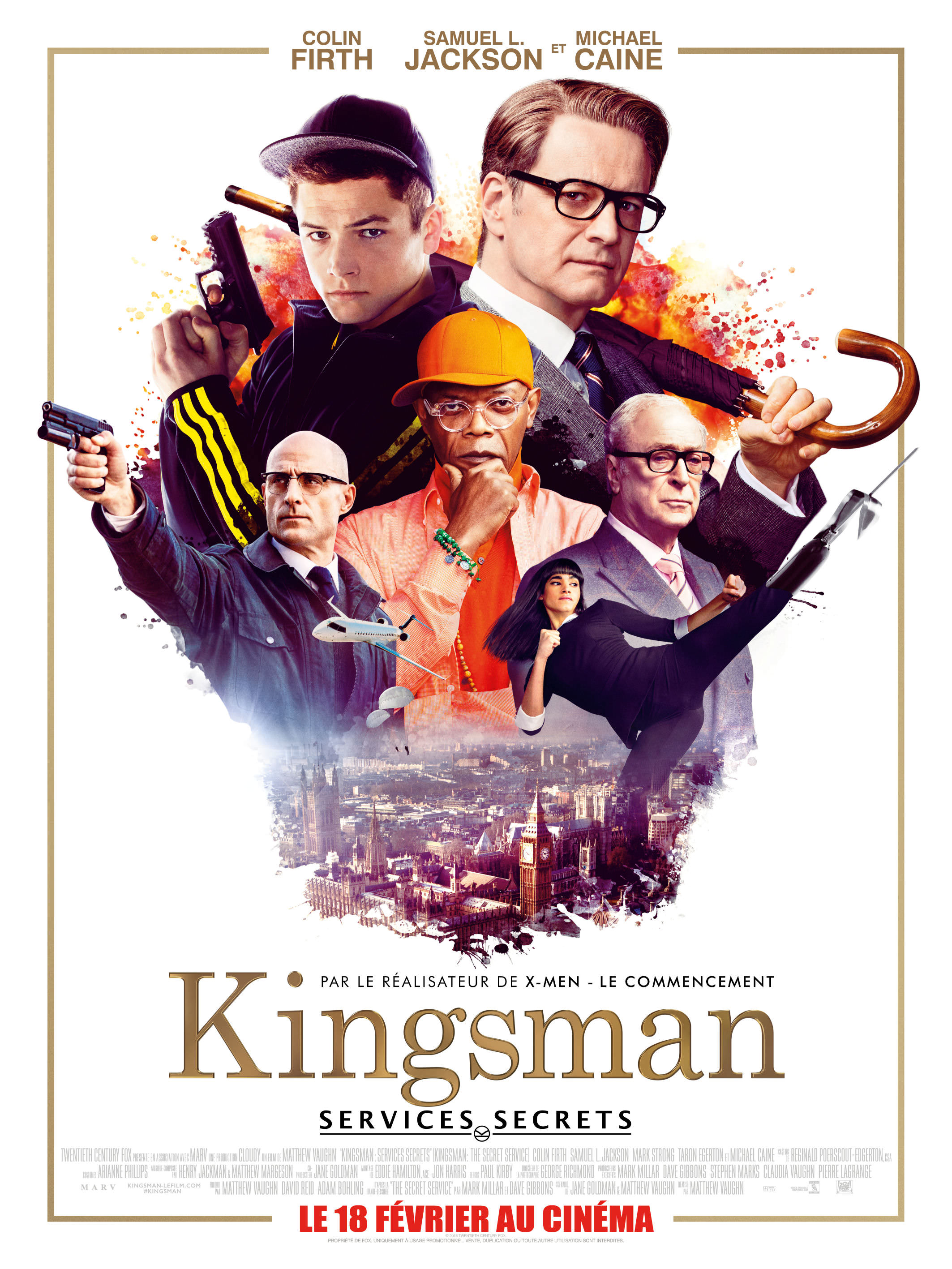 Kingsman services secrets vaughn