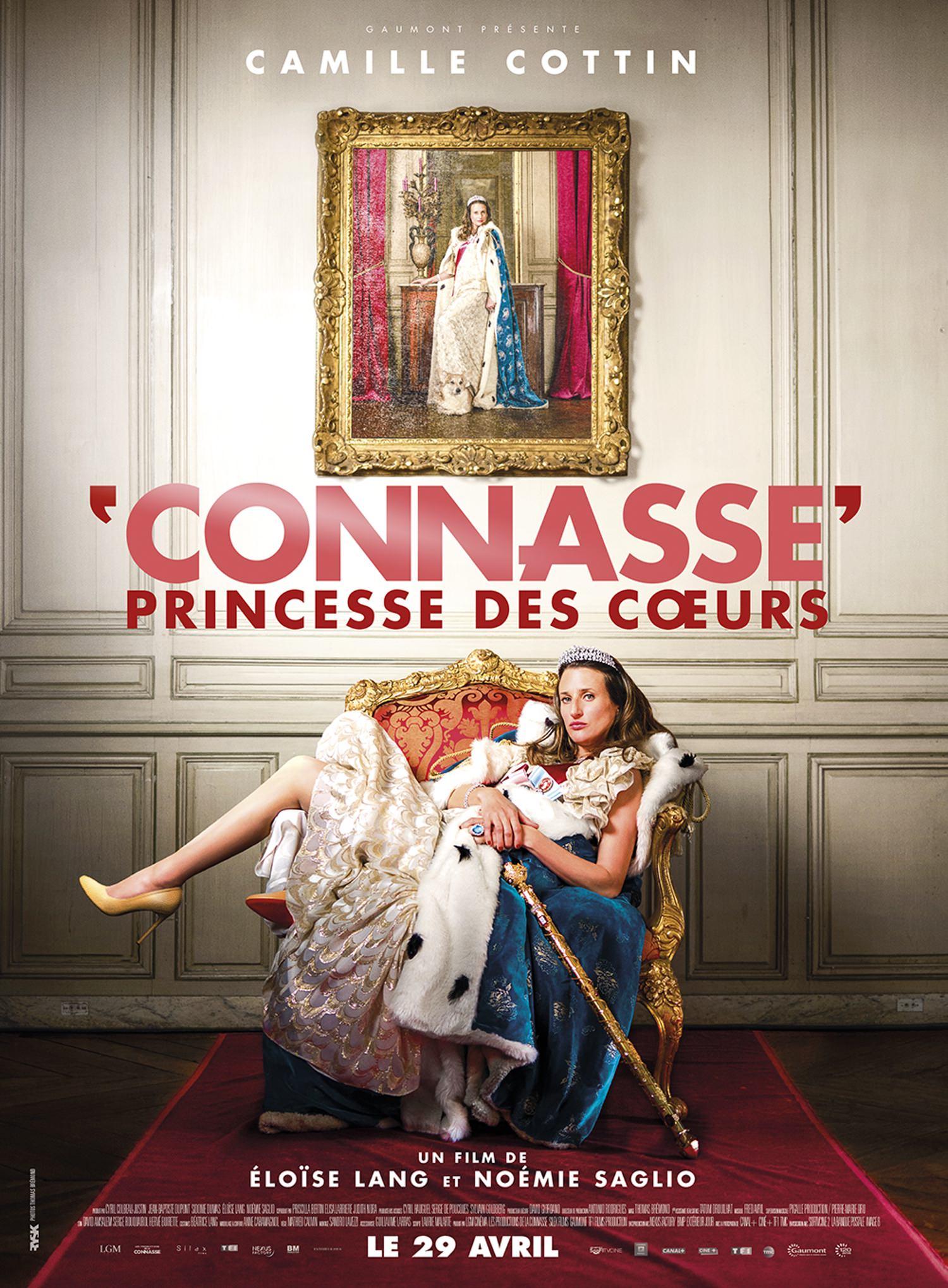Connasse princesse coeurs lang saglio