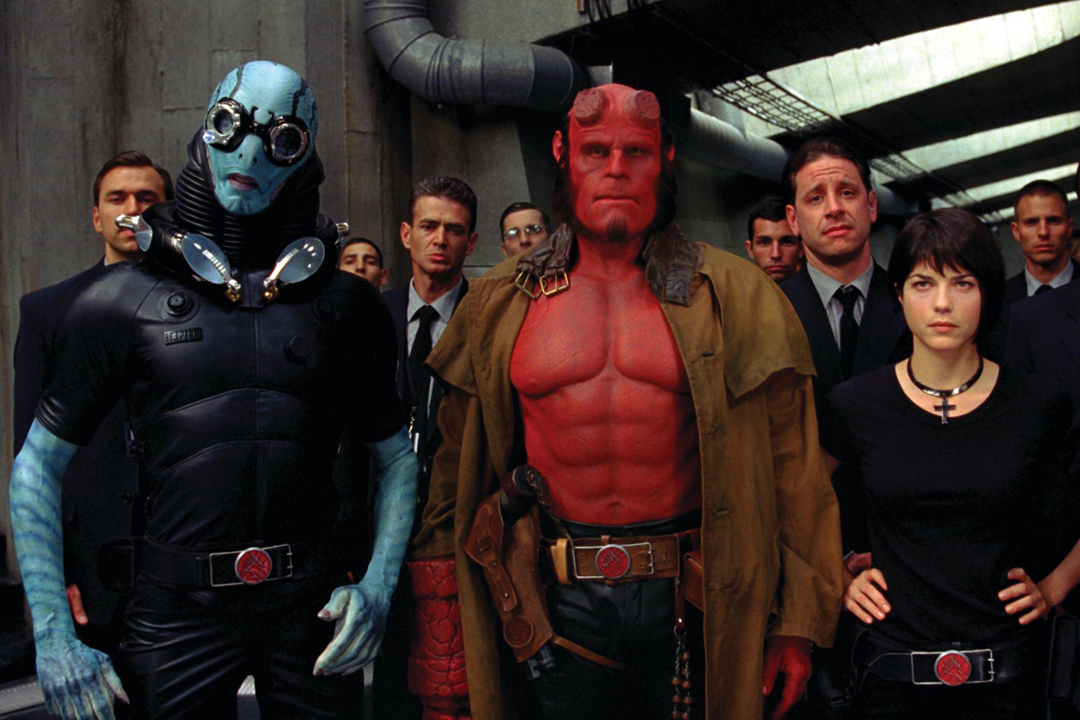 Hellboy 2 legions or maudites guillermo del toro