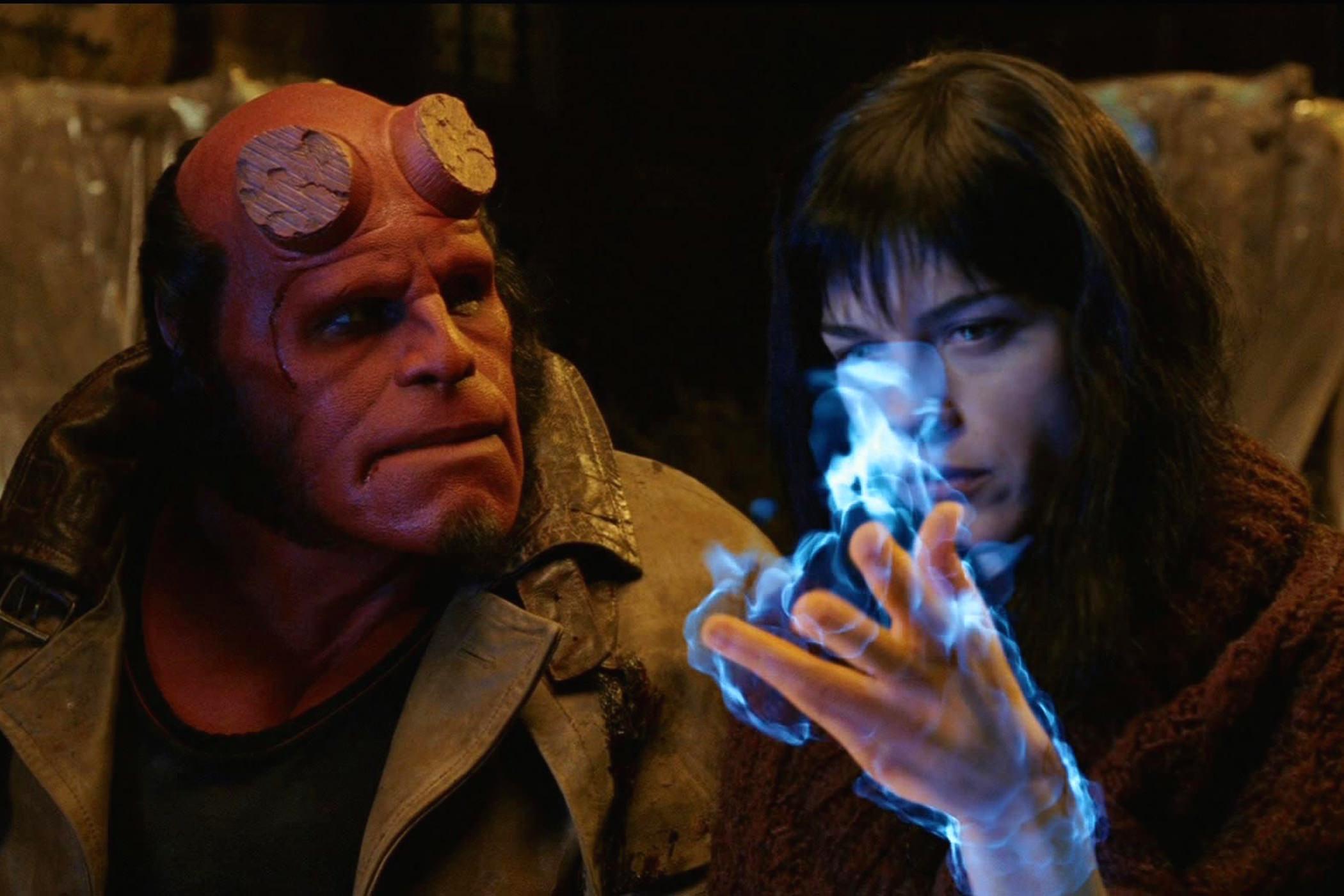 Hellboy ron perlman selma blair