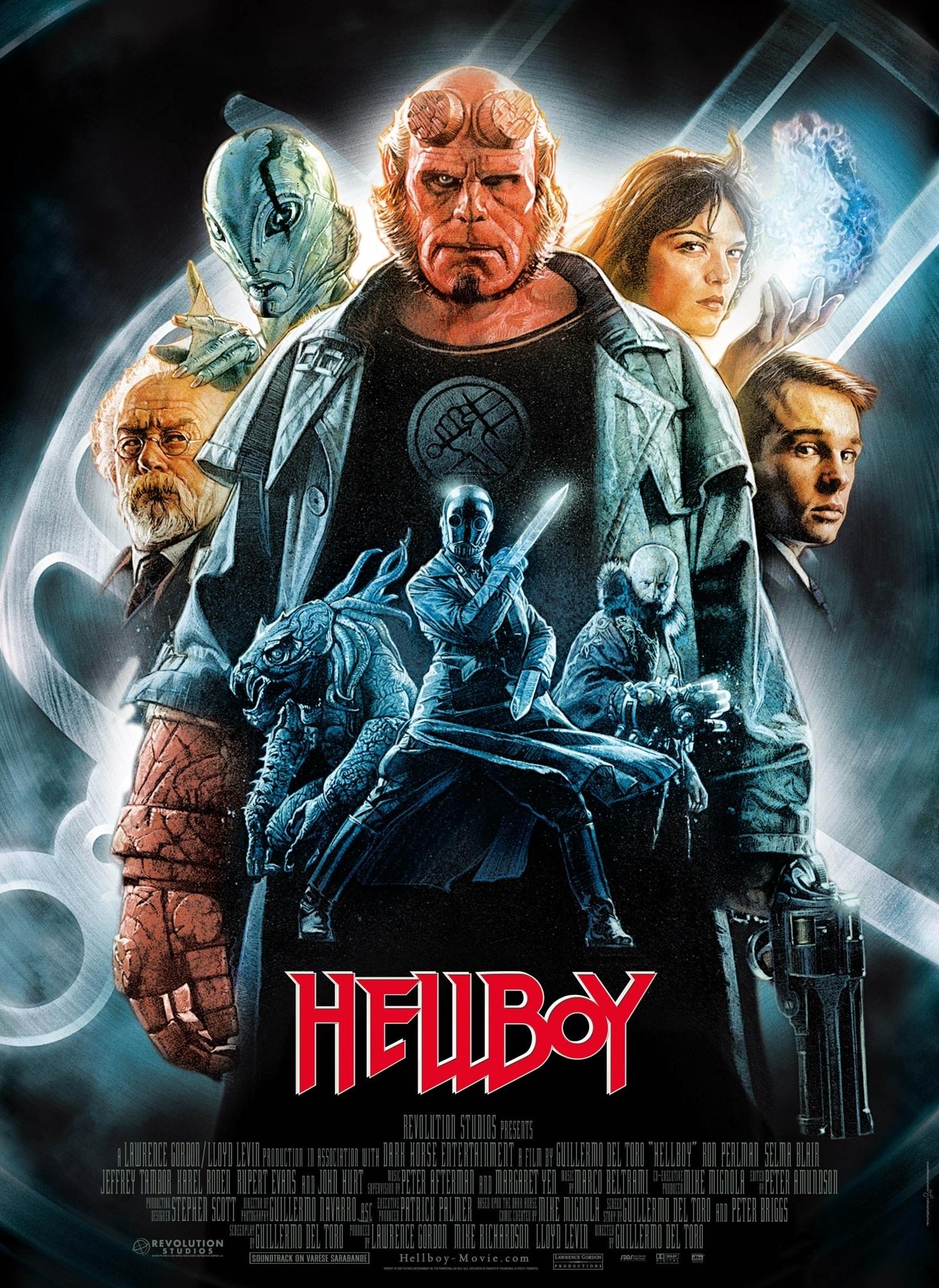 Hellboy toro