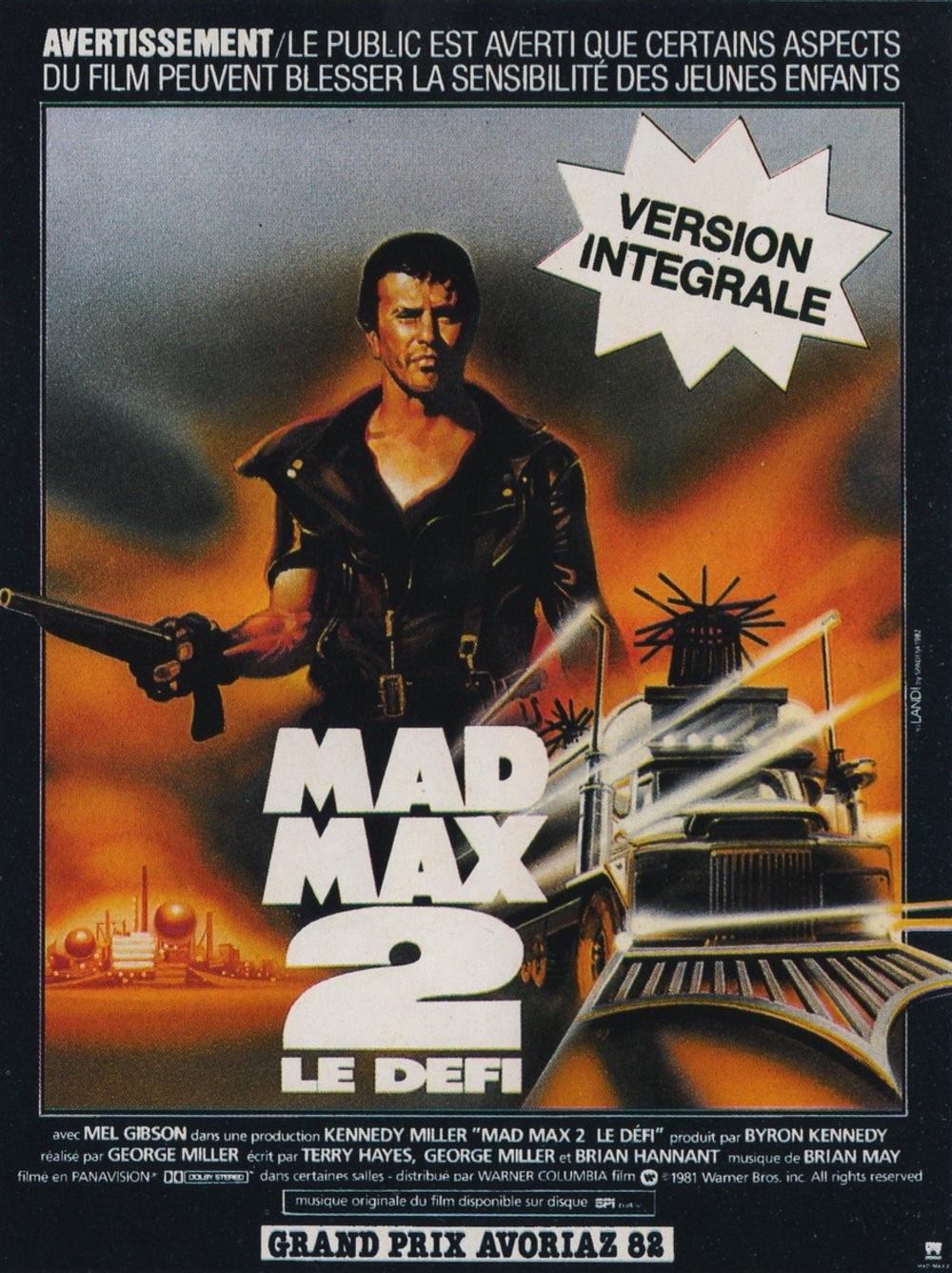 Mad max 2 defi miller