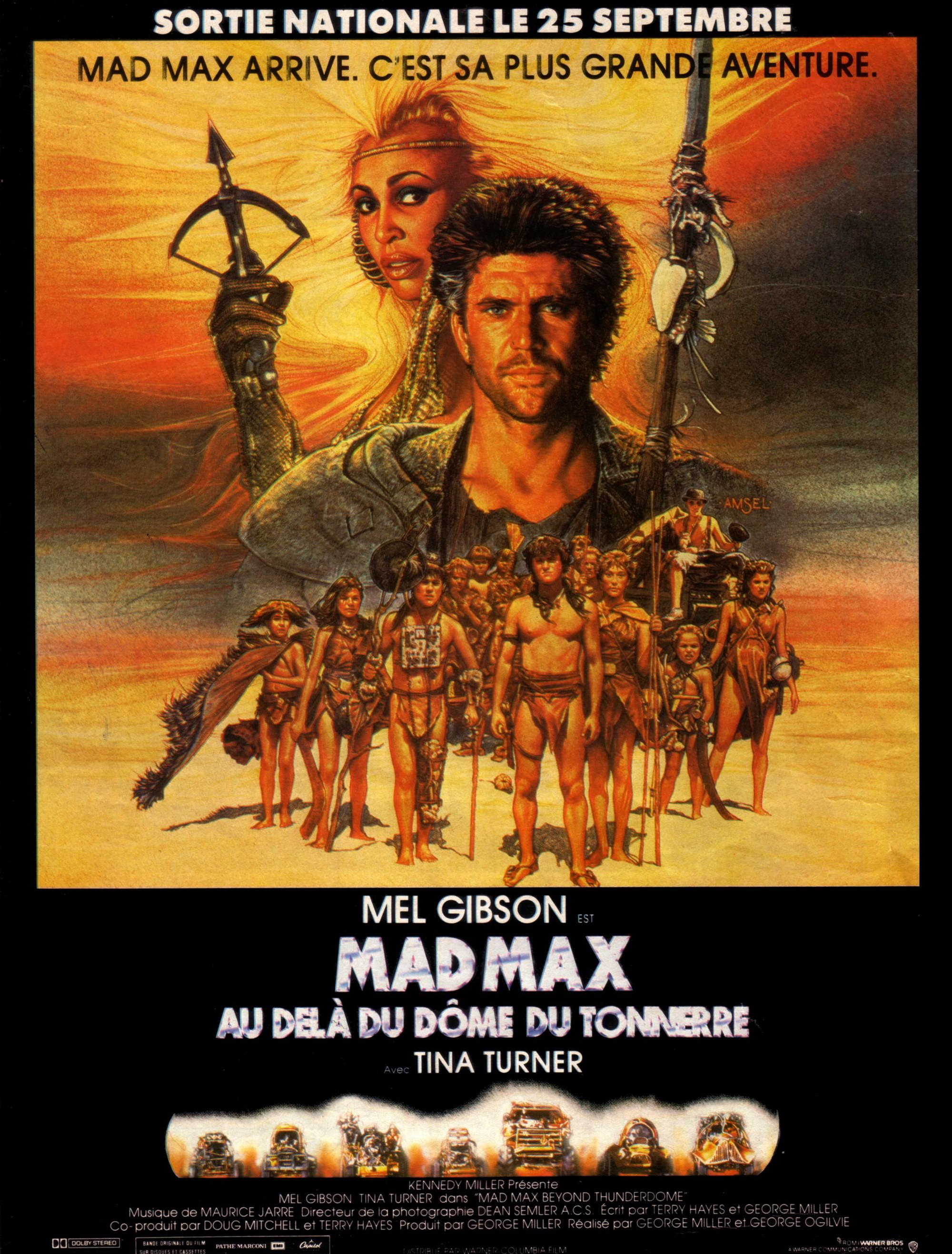 Mad max dome tonnerre miller ogilvie