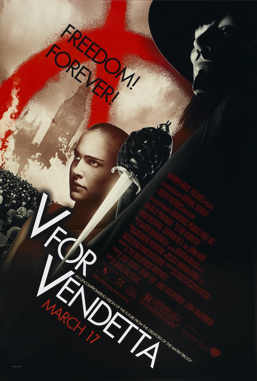 V pour vendetta mcteigue